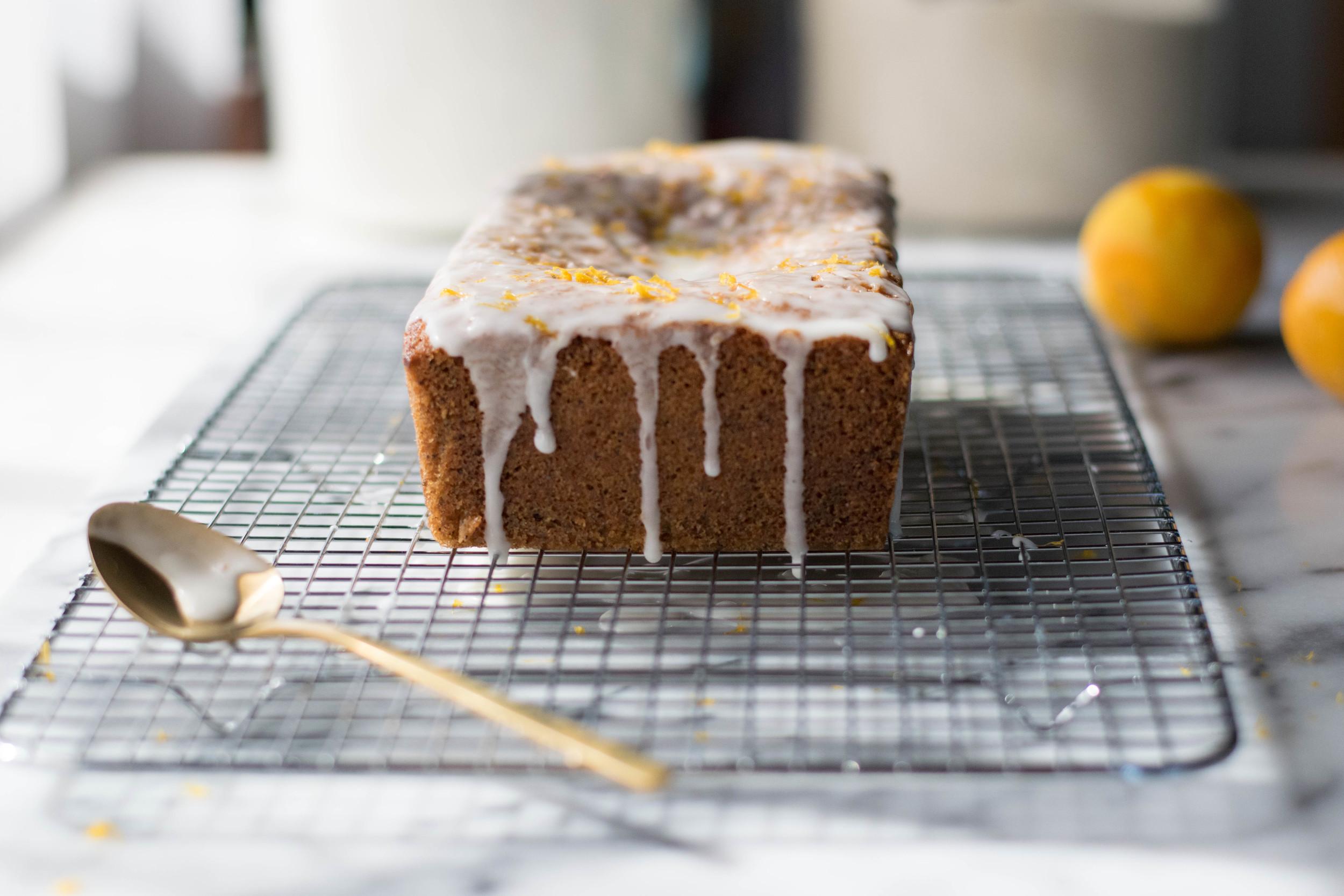 Meyer Lemon + Almond Poppy Seed Pound Cake | All Purpose Flour Child