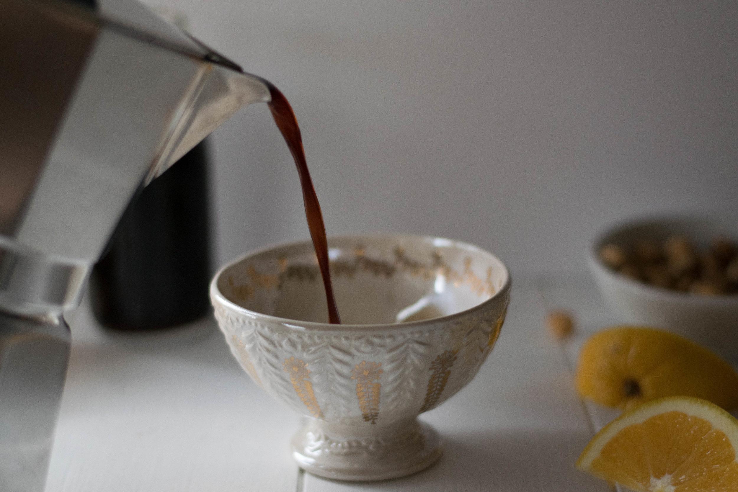 Orange + Hazelnut Latte | All Purpose Flour Child