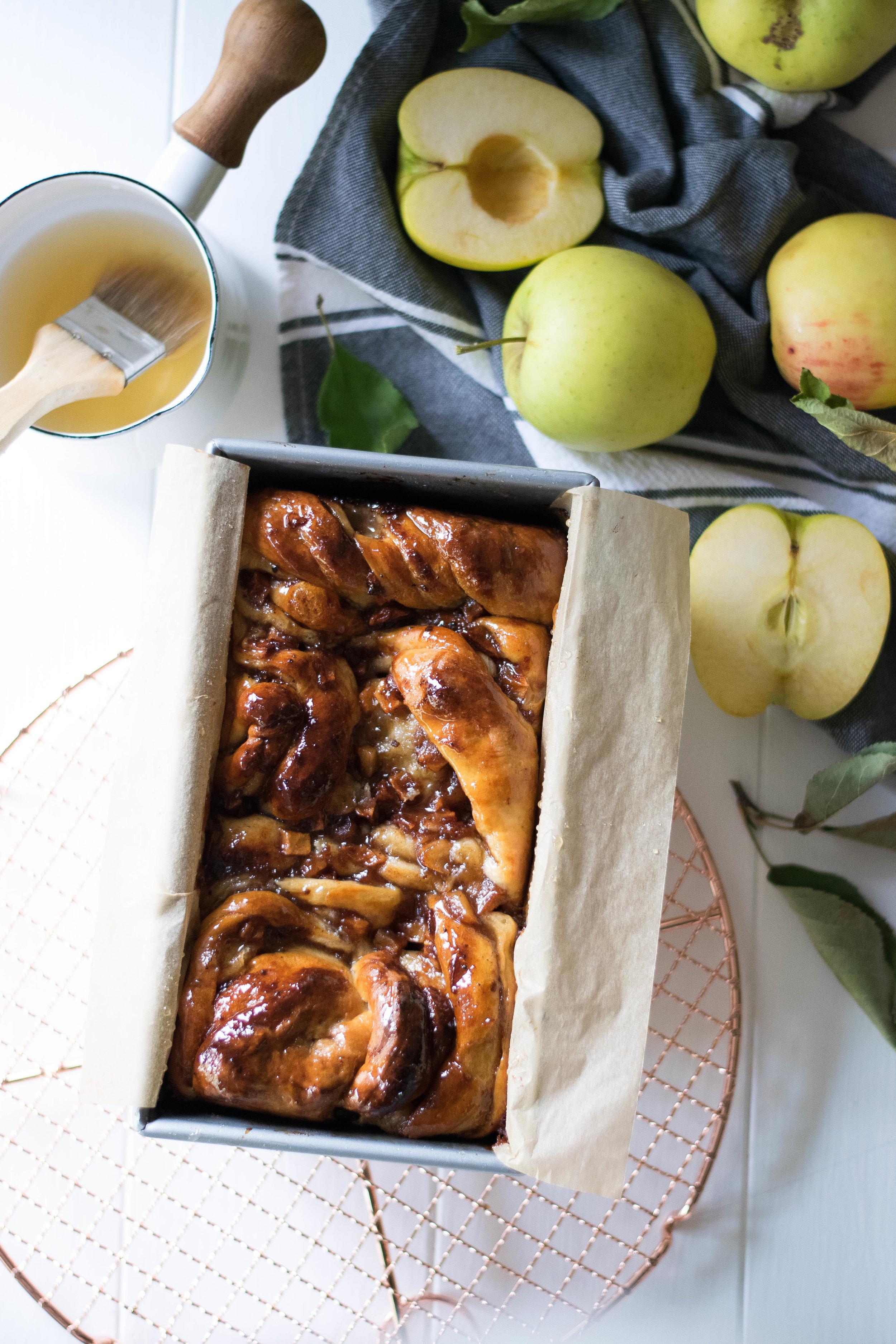 Triple Apple Babka | All Purpose Flour Child