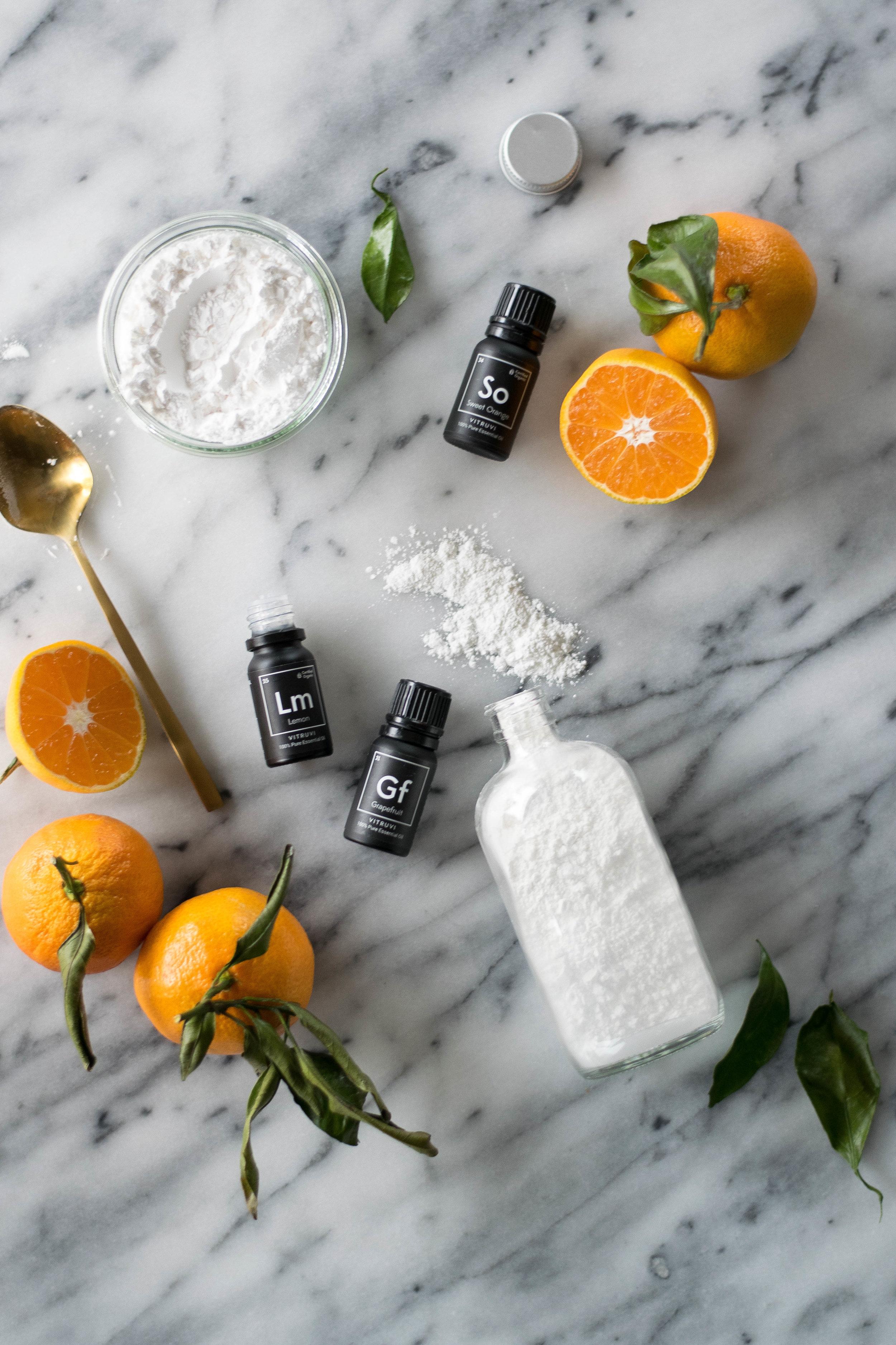 Essential Oil Beauty DIYs with Vitruvi | All Purpose Flour Child