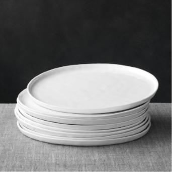 Crate & Barrel Mercer Dinner Plate