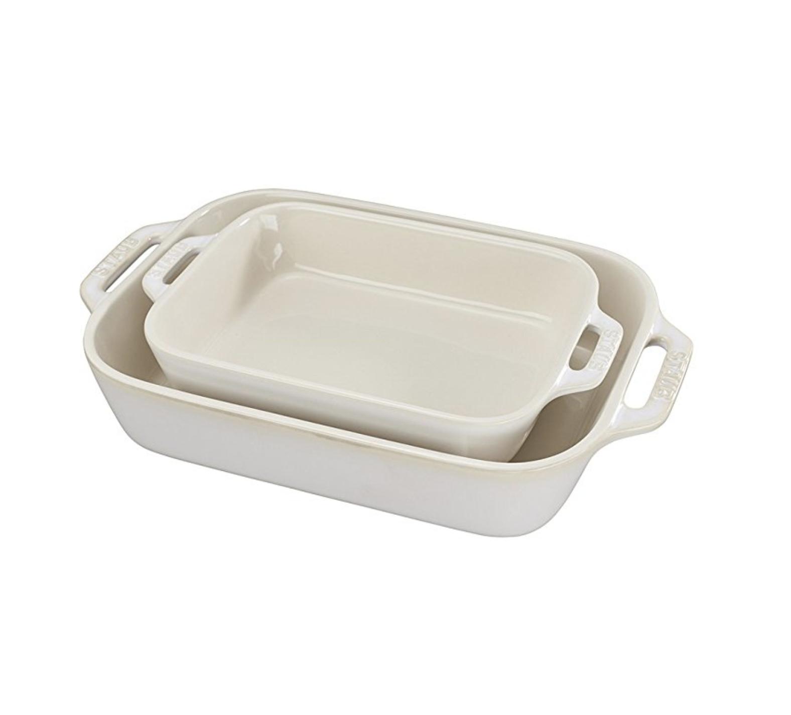 Staub Ceramic Baking Dish Set
