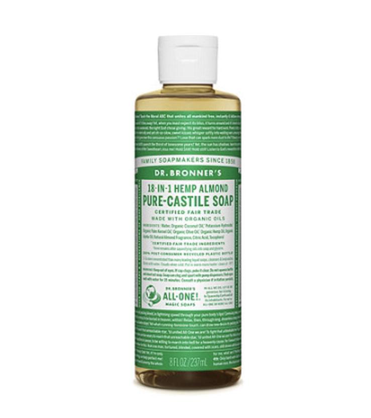 Dr. Bronner's Almond Pure-Castile Liquid Soap