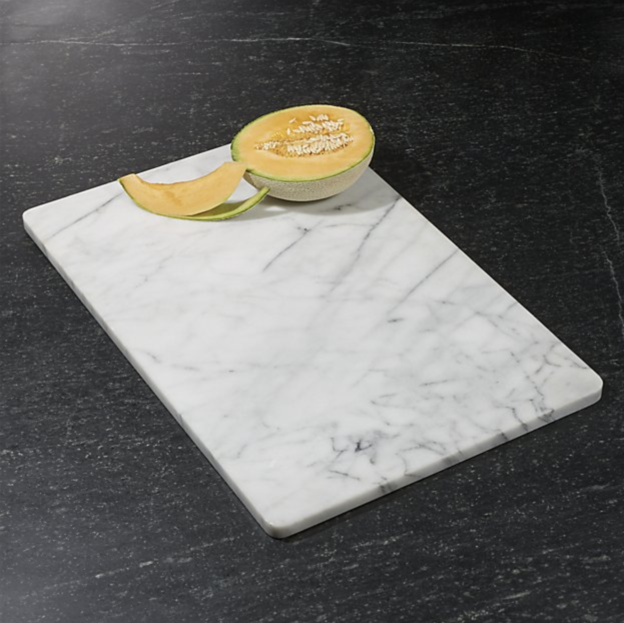 Crate & Barrel Marble Pastry Slab