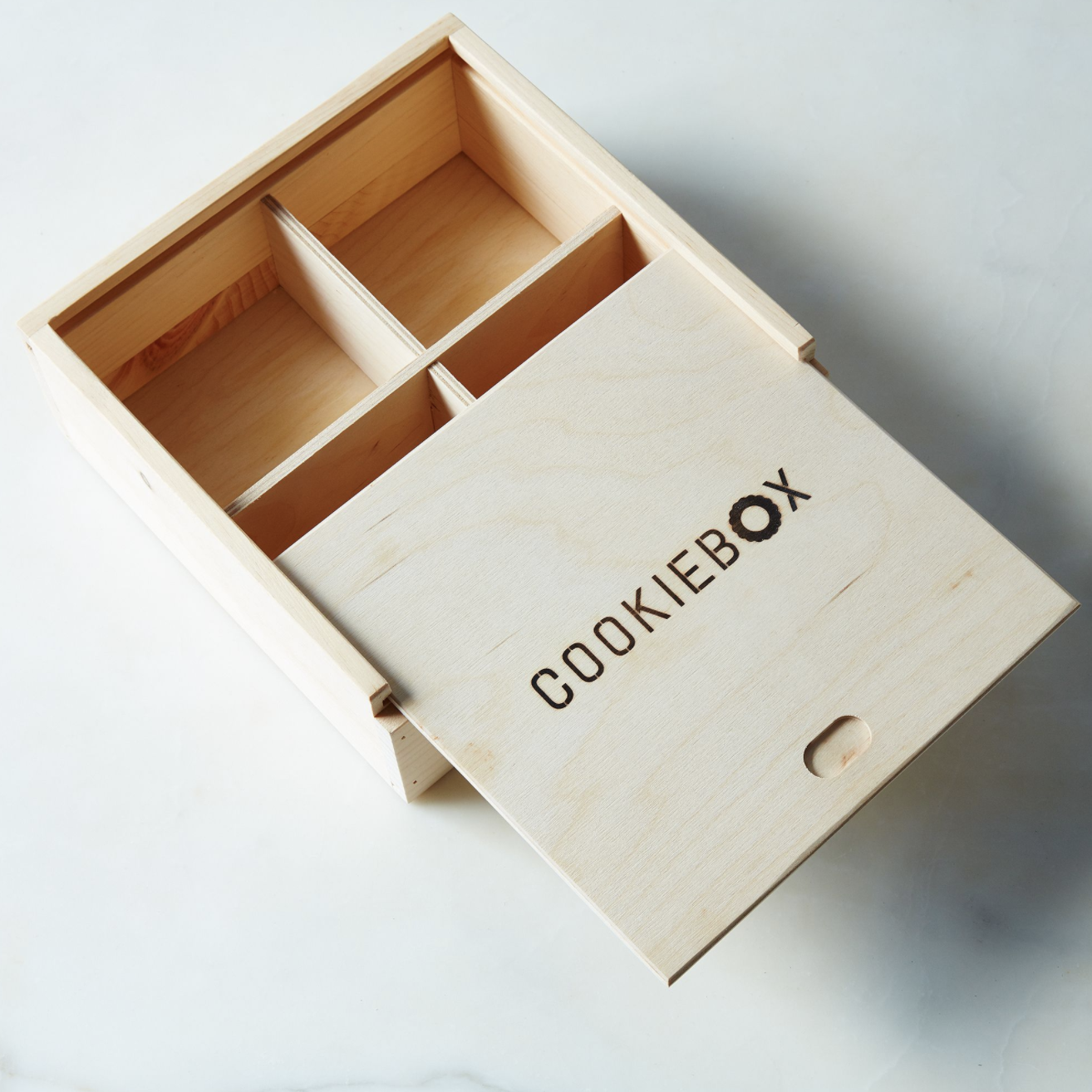 Wooden Cookie Box