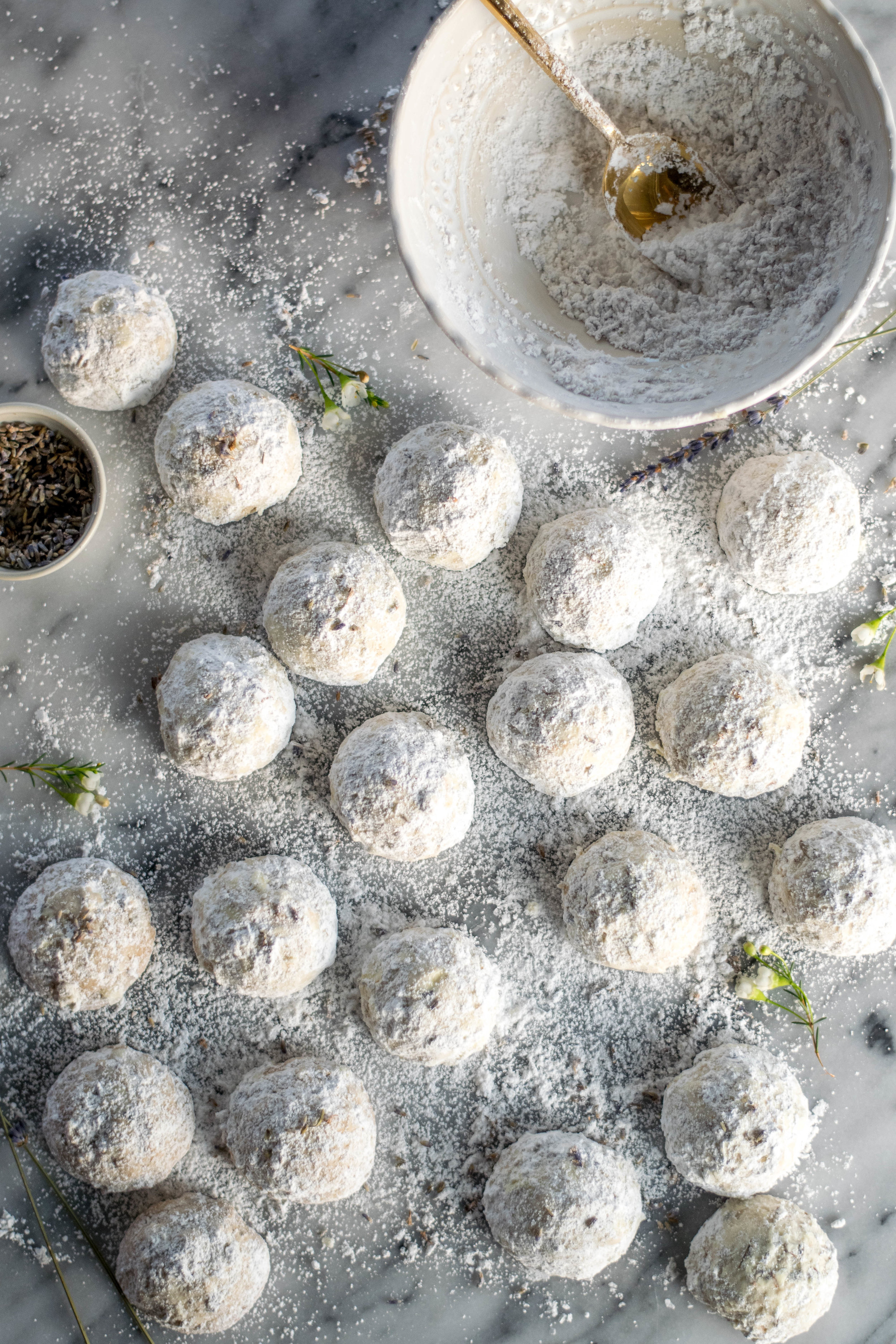 Seattle Fog Snowball Cookies | All Purpose Flour Child