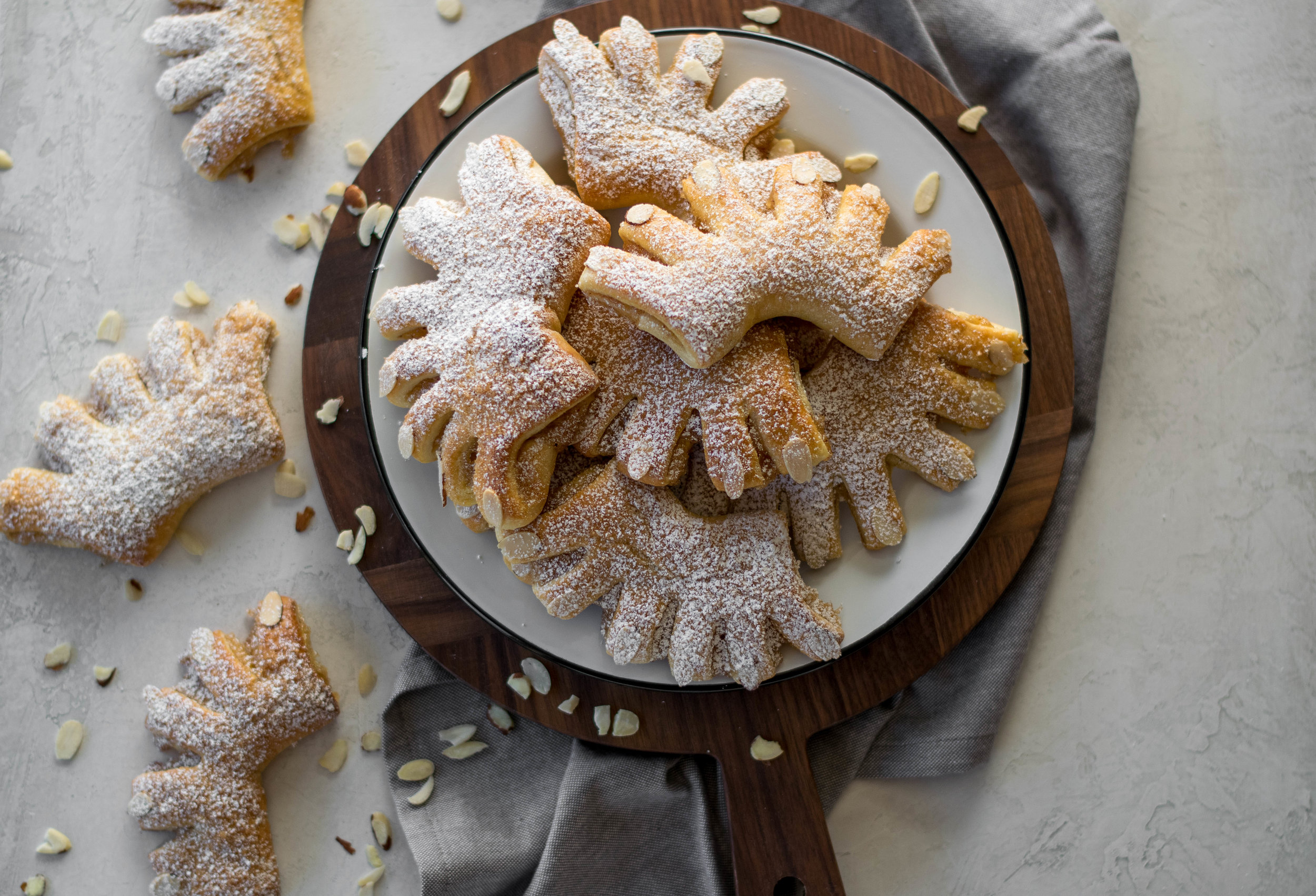 Christmas Bear Claws | All Purpose Flour Child
