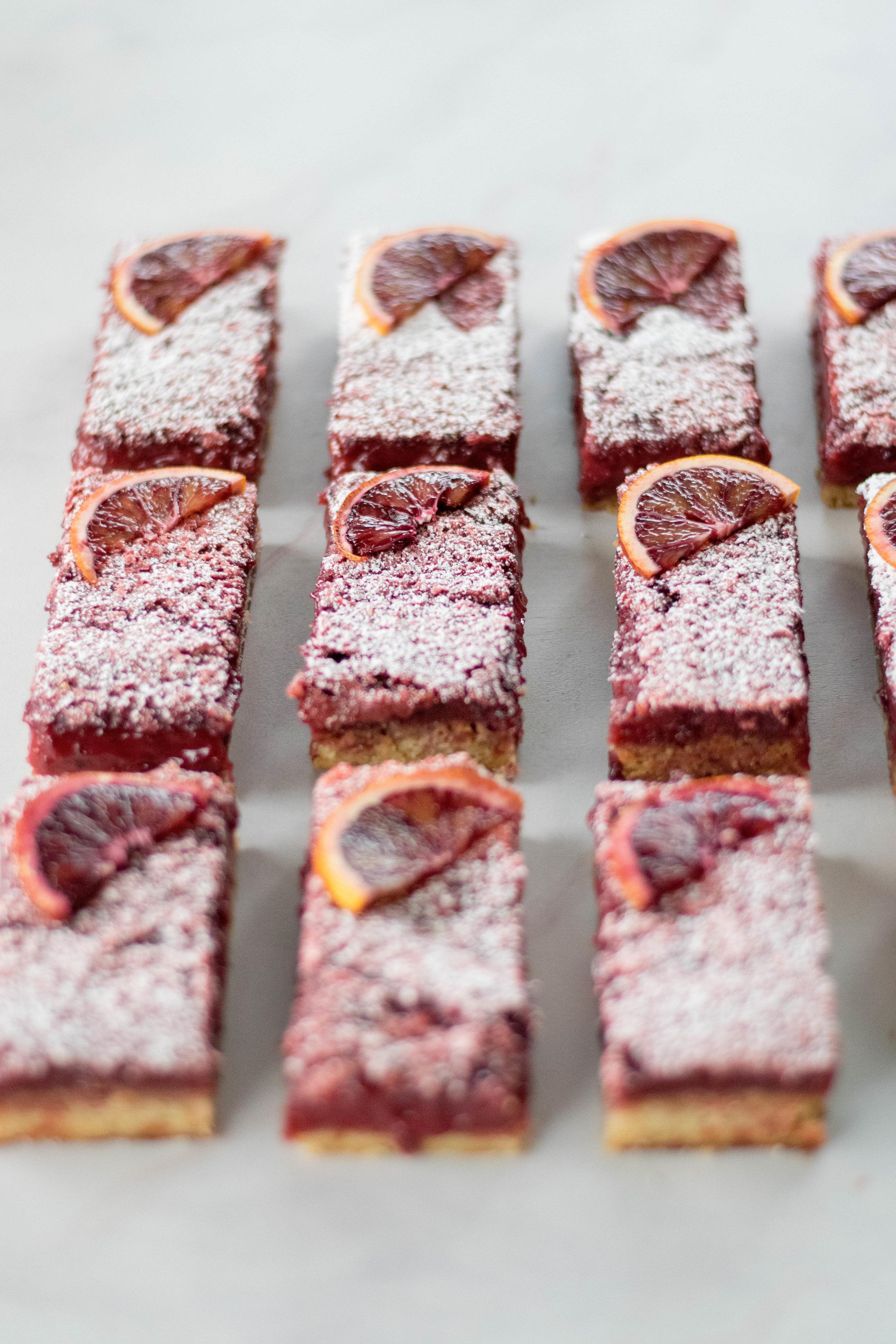 Hibiscus + Blood Orange Bars   All Purpose Flour Child