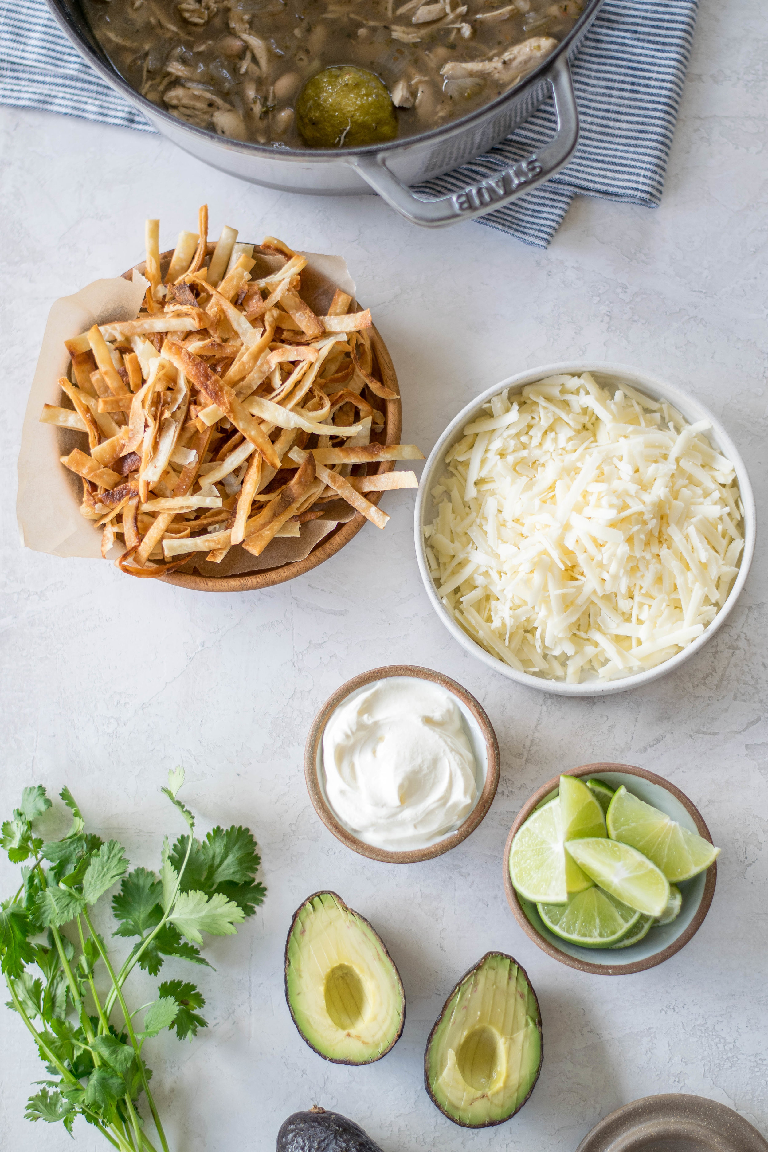 20 Minute Chicken + Lime Tortilla Soup | All Purpose Flour Child