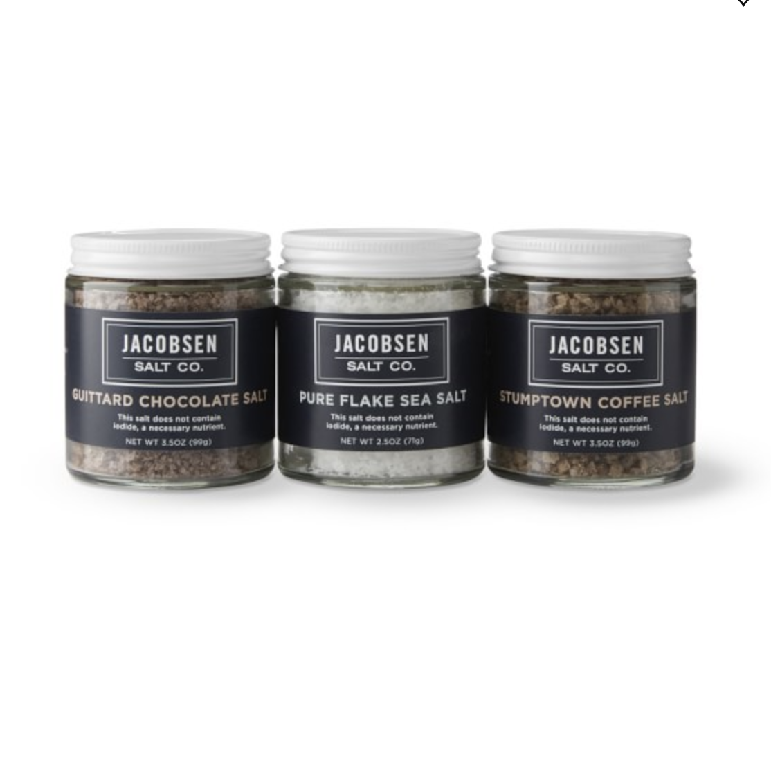 Jacobsen Salt Co. Dessert Trio