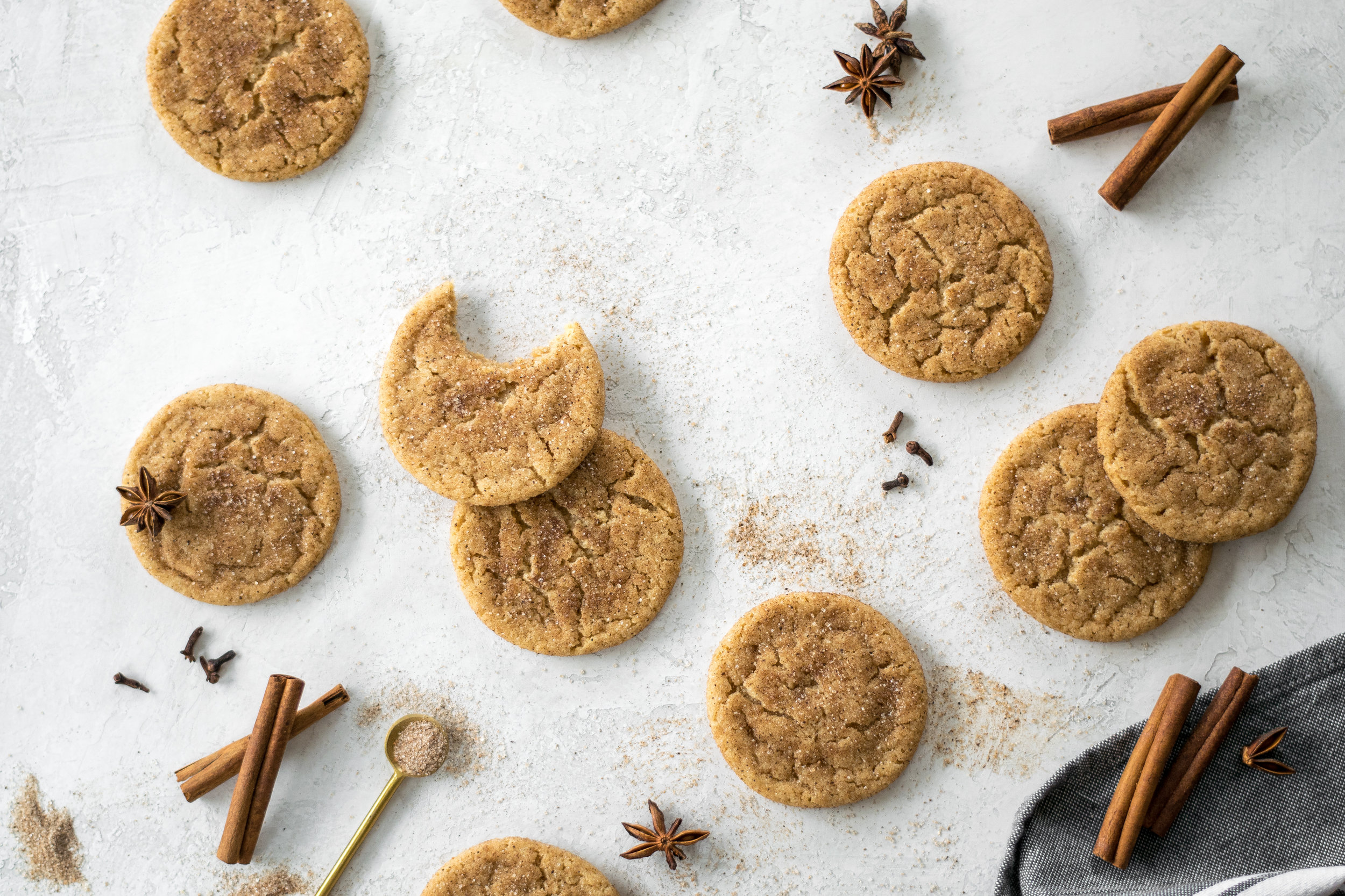 Brown Butter Hawaij-Spiced Snickerdoodles | All Purpose Flour Child