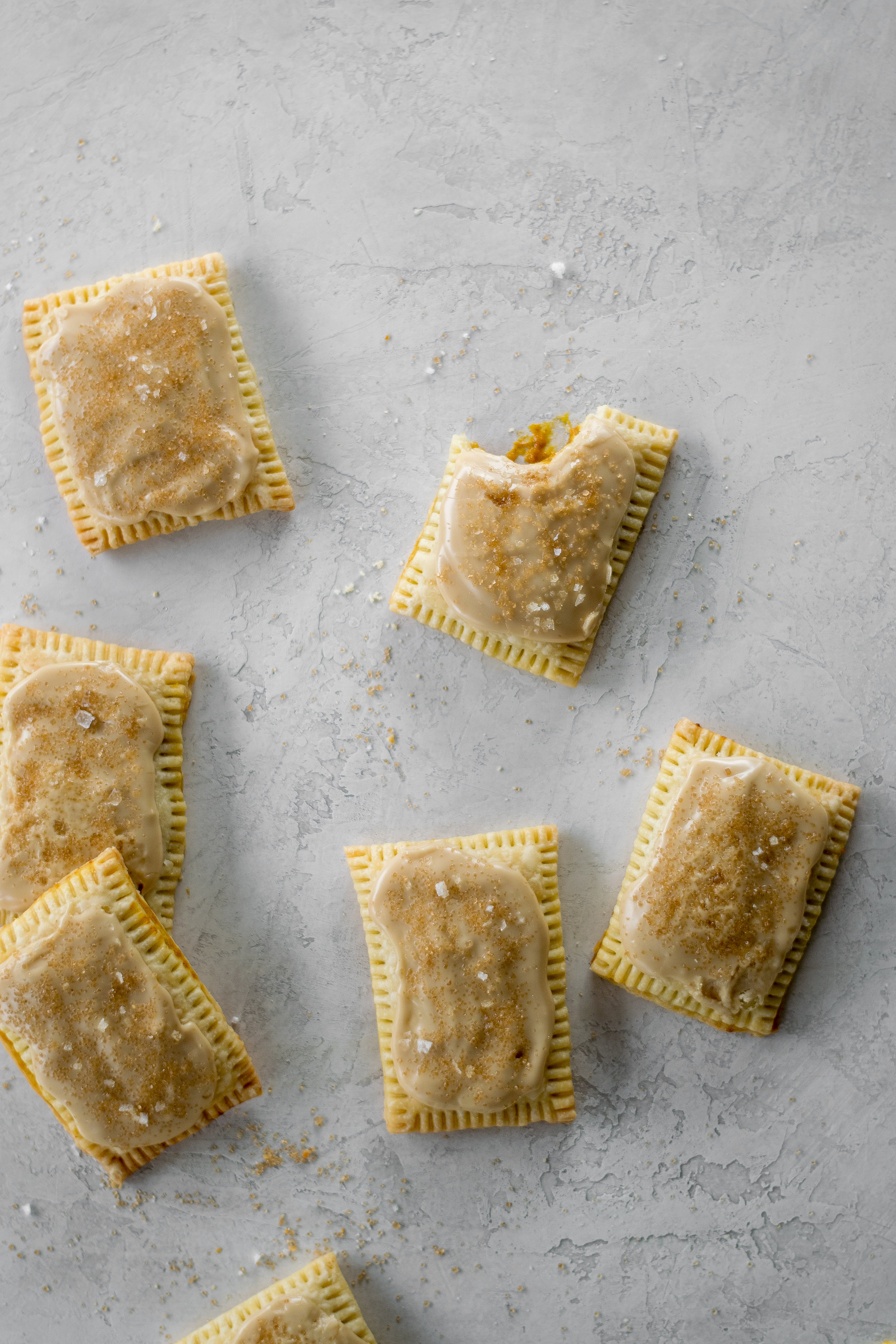Maple Bourbon Pumpkin Pop Tarts | All Purpose Flour Child
