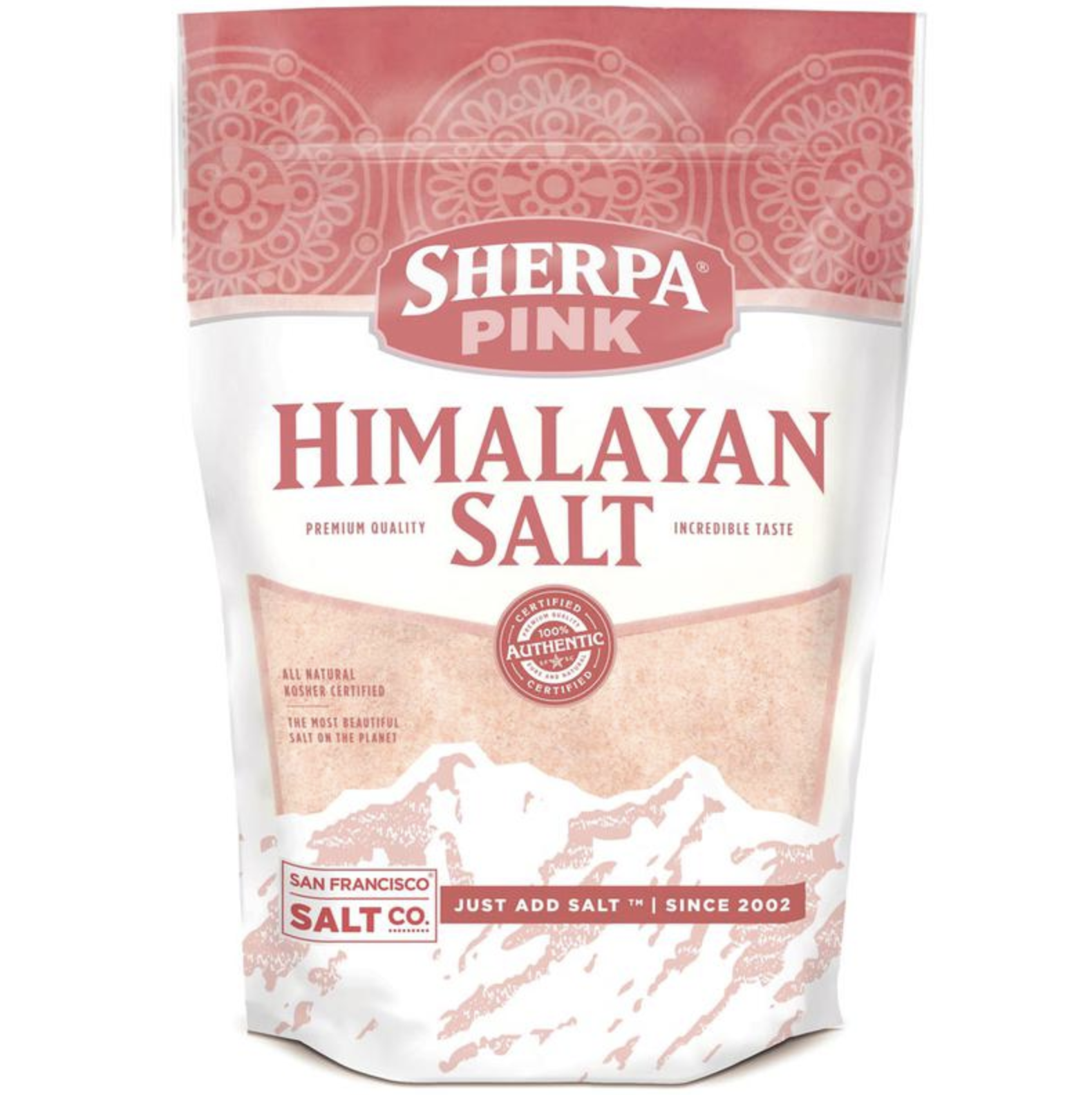 S.F. Salt Co. Himalayan Pink Salt