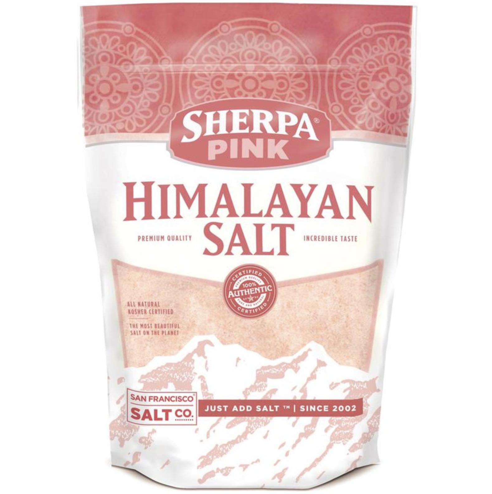 S.F. Salt Co. Himalayan Pink Salt