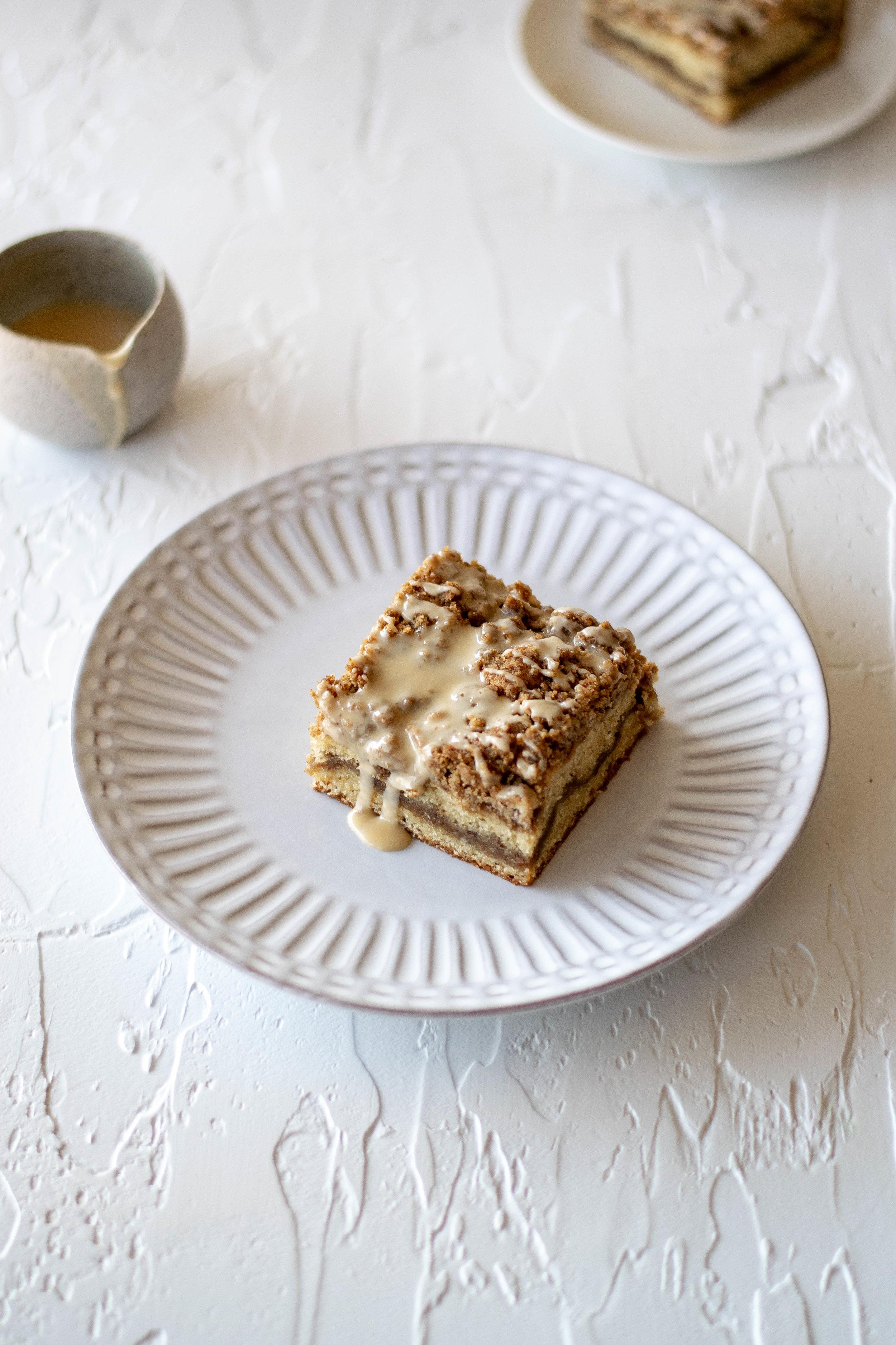 Irish Cream Coffee Cake with Espresso Crumb Topping | All Purpose Flour Child