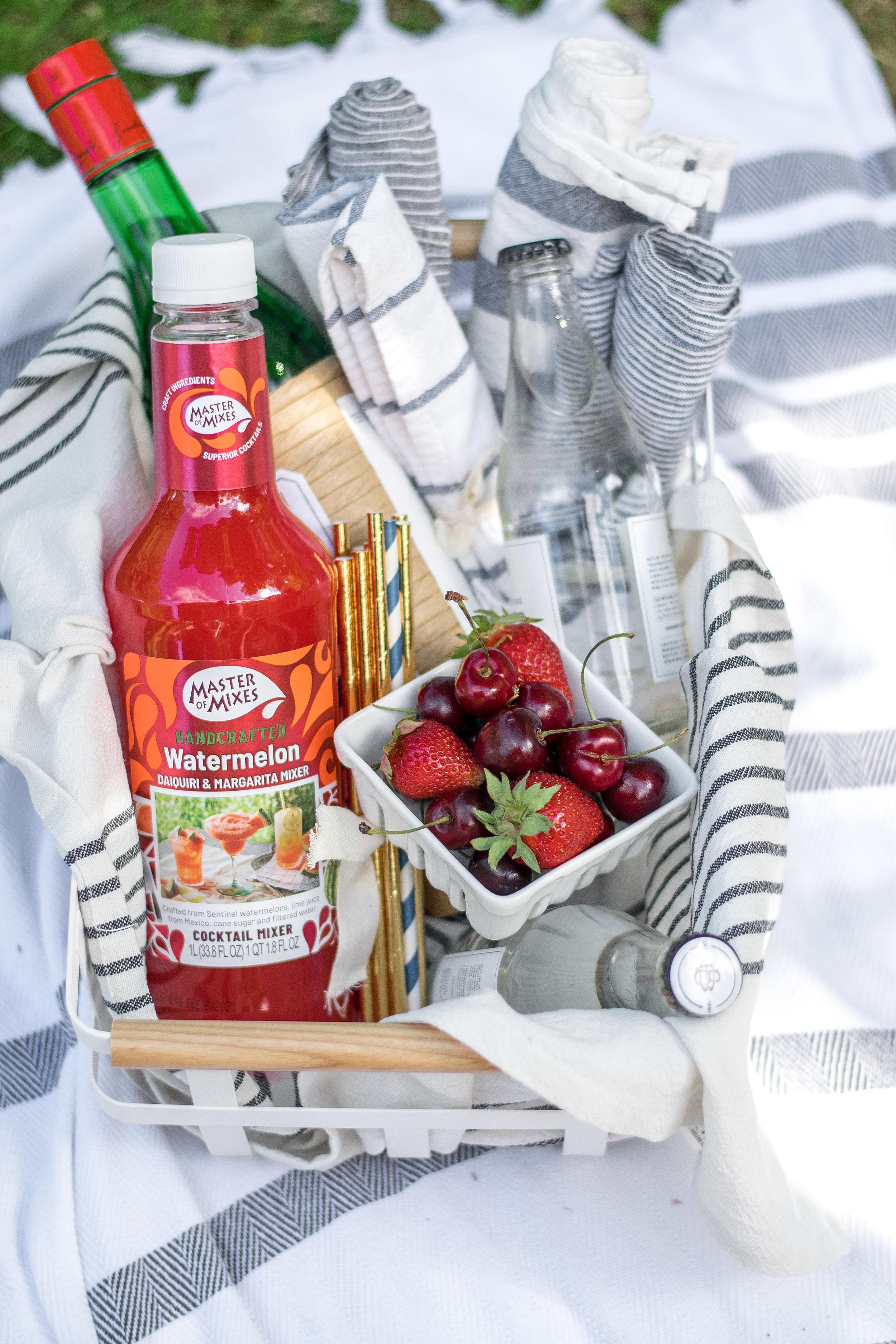 Cherry Watermelon Firecracker Slushy | All Purpose Flour Child
