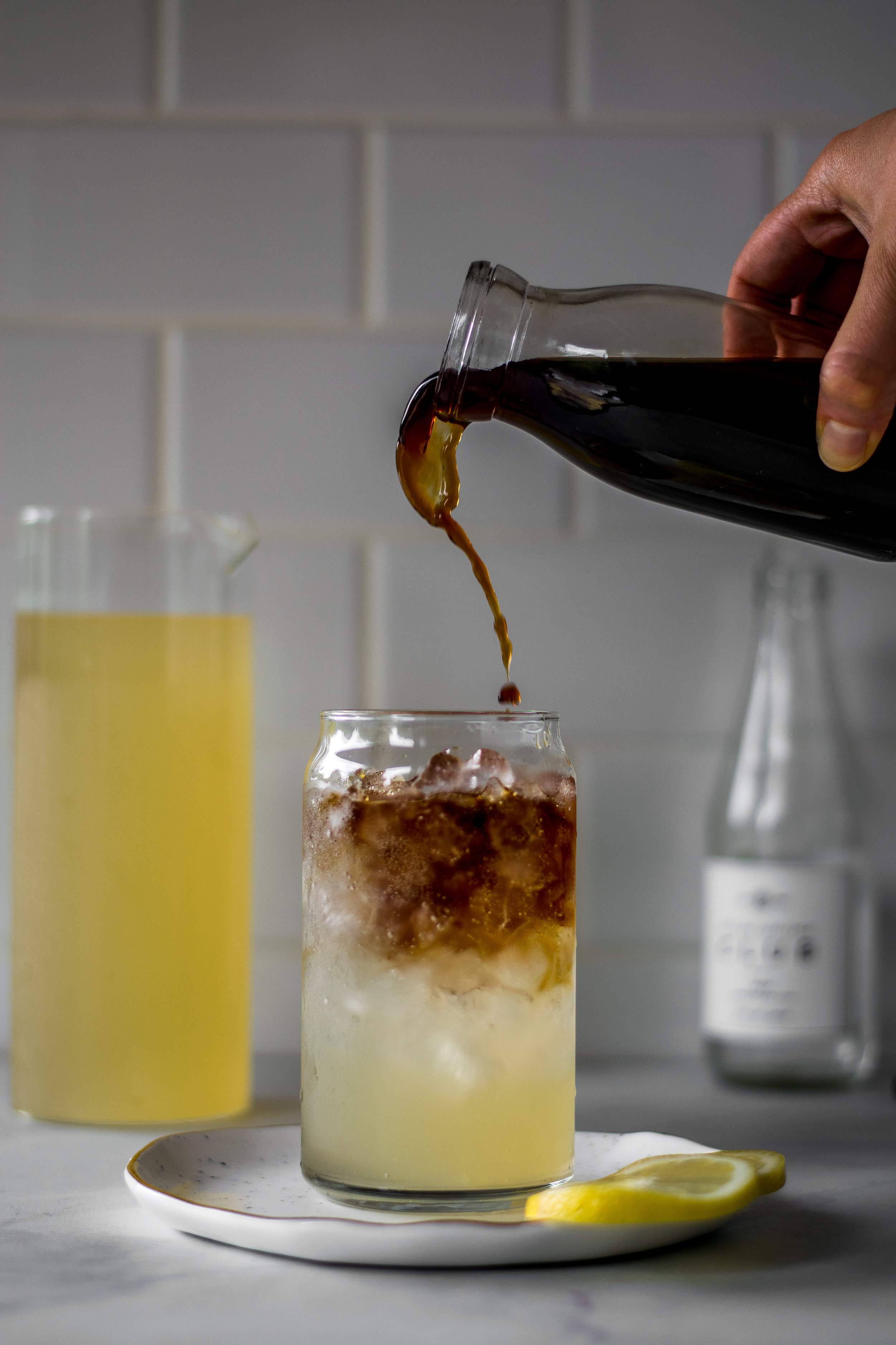 Sparkling Cold Brew Arnold Palmers