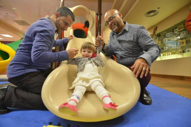North Jersey newly adoptive parents join in national day of celebration - Steven and Jose Lassalle of Bloomfield knew their daughter since she was 8 months old, but she wasn't theirs to keep. In the back of their minds, they knew Jolie could be torn from their arms at any time if her birth mother regained custody.//The Record, NorthJersey.com