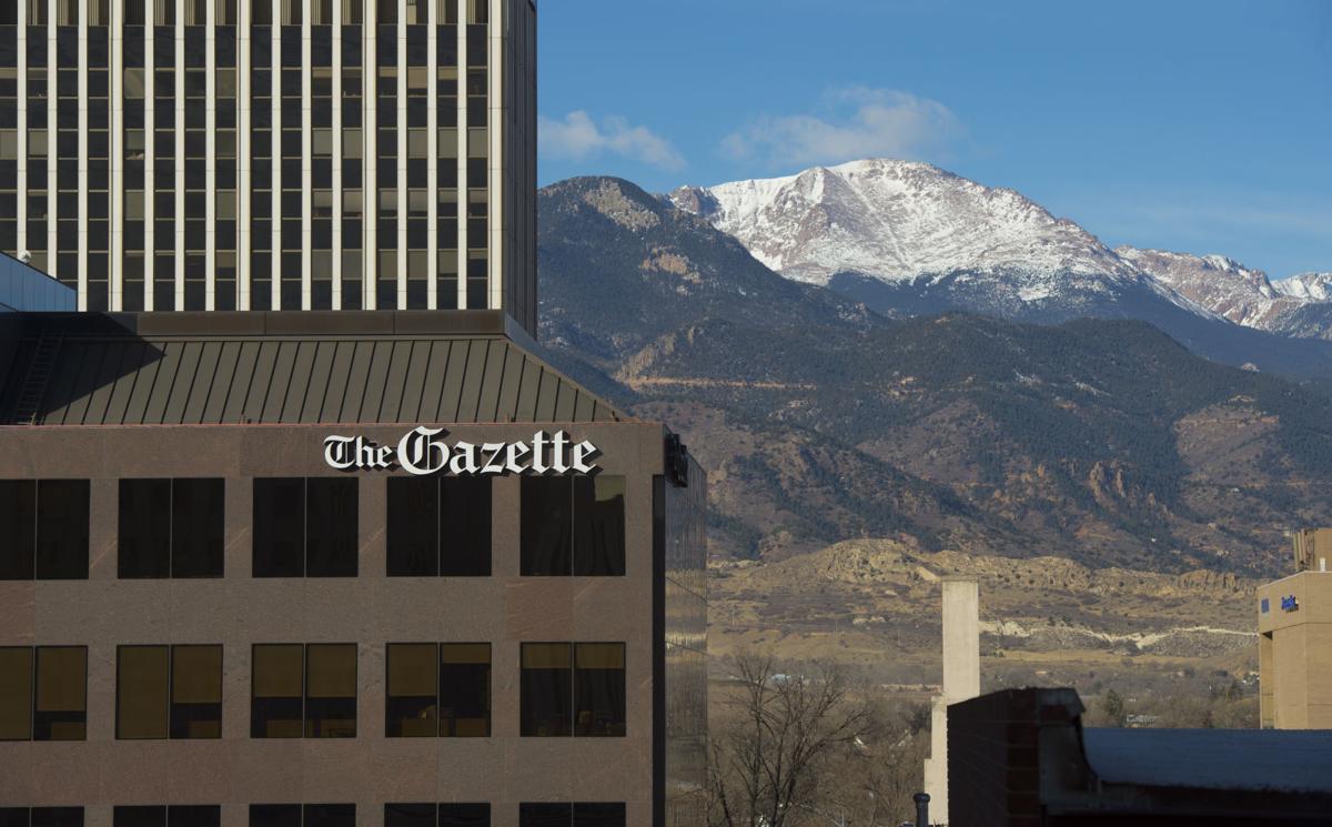 The Gazette newsroom in Colorado Springs. (Photo courtesy of gazette.com)