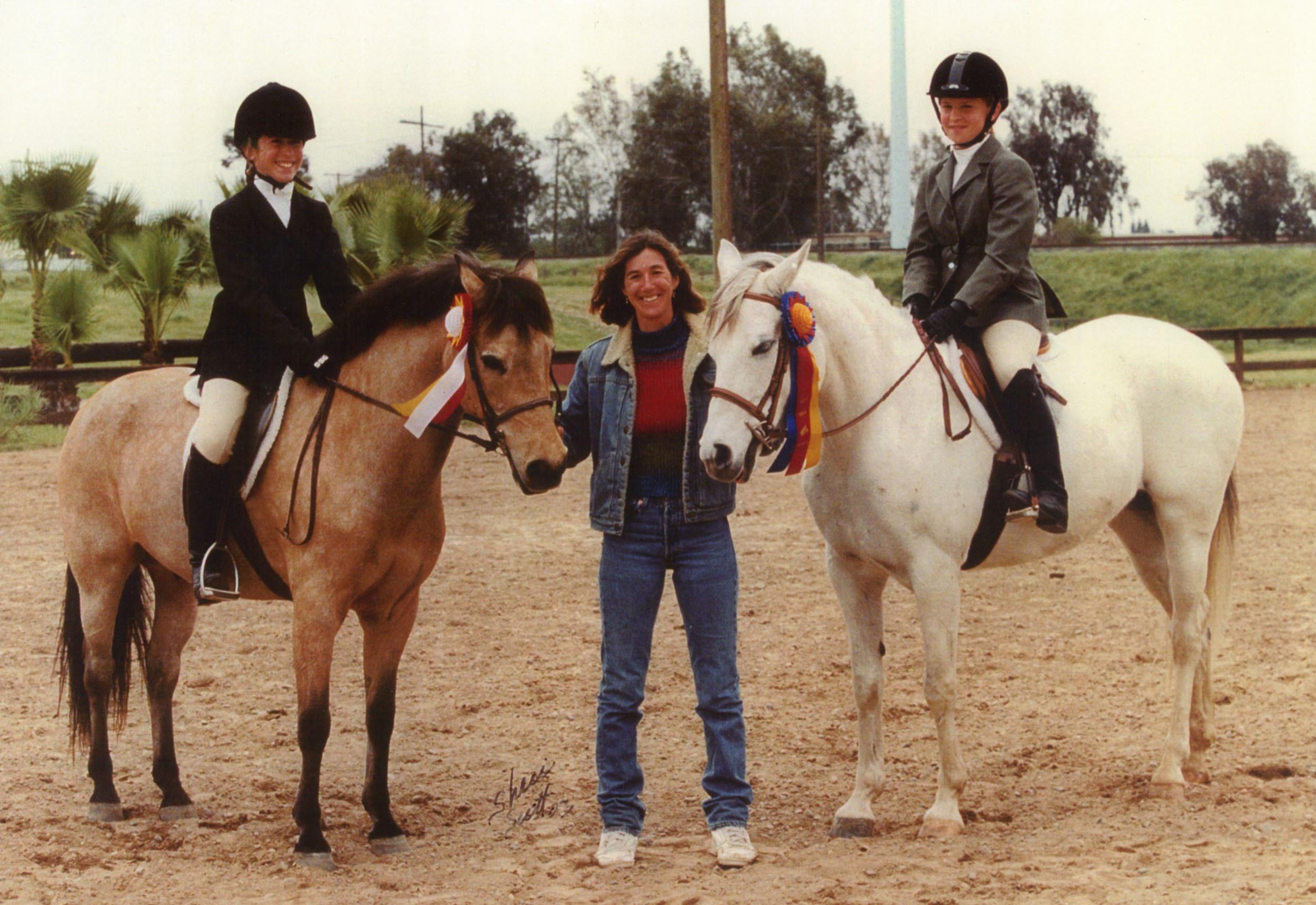 Marguerite & the ponies