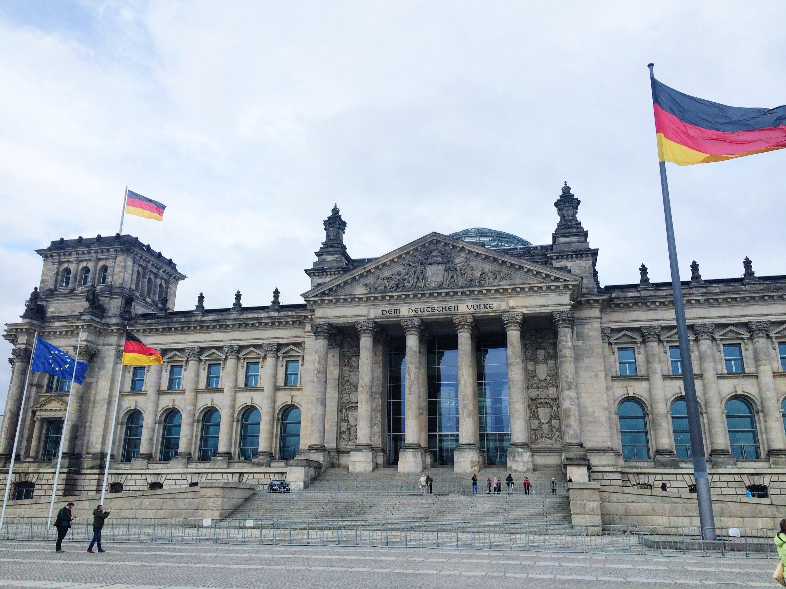 Reichstag Building / Tiergarten, Berlin / Germany