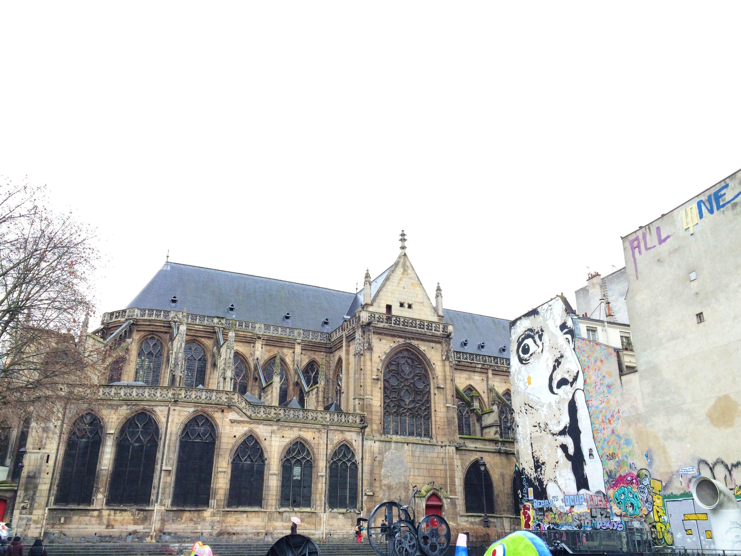 Church of Saint Merri   Paris   source: Alexis Rockley, Local (Tourist)