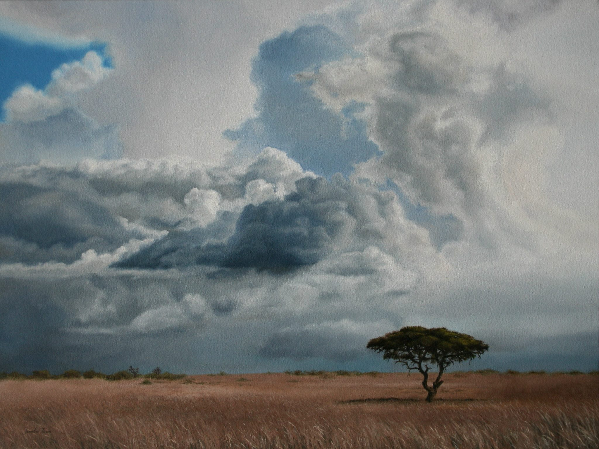 Storm Clouds Over Africa