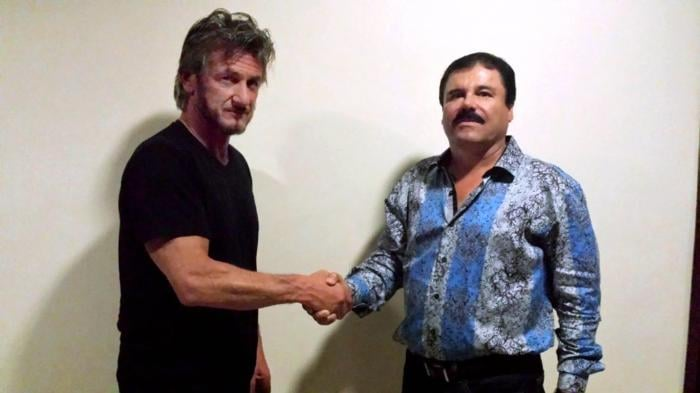 Sean Penn and El Chapo could not be more comfortable with each other ( source )