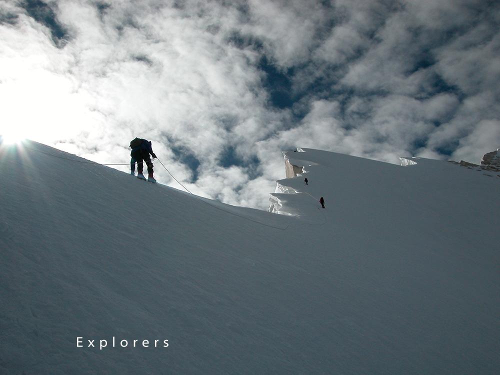 Climbing Mt Meru (6772m)