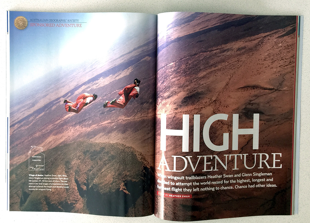 Australian Geographic Feature Article