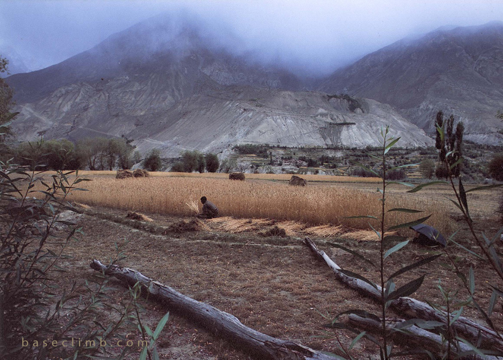 Askole Village Pakistan Baseclimb 2