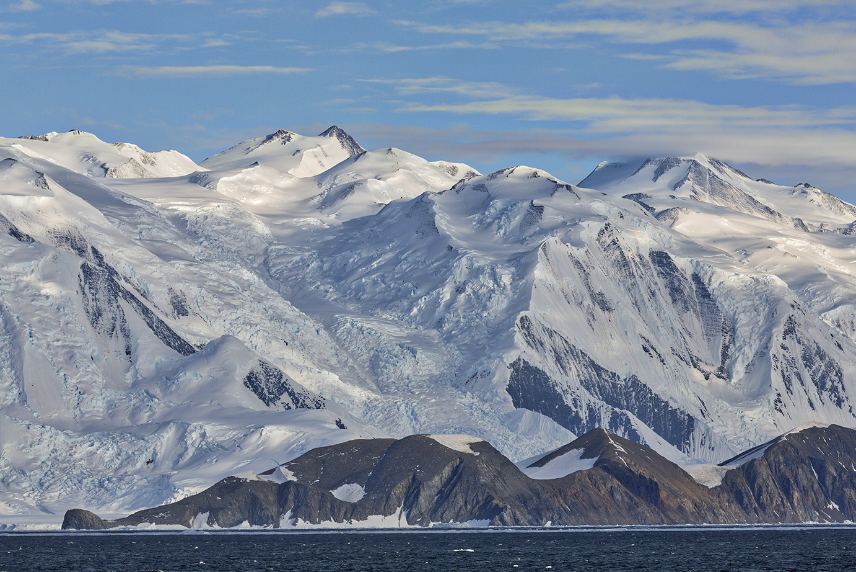 North Victorialand, Ross Sea Antarctica. Photo: Dr. Glenn Singleman