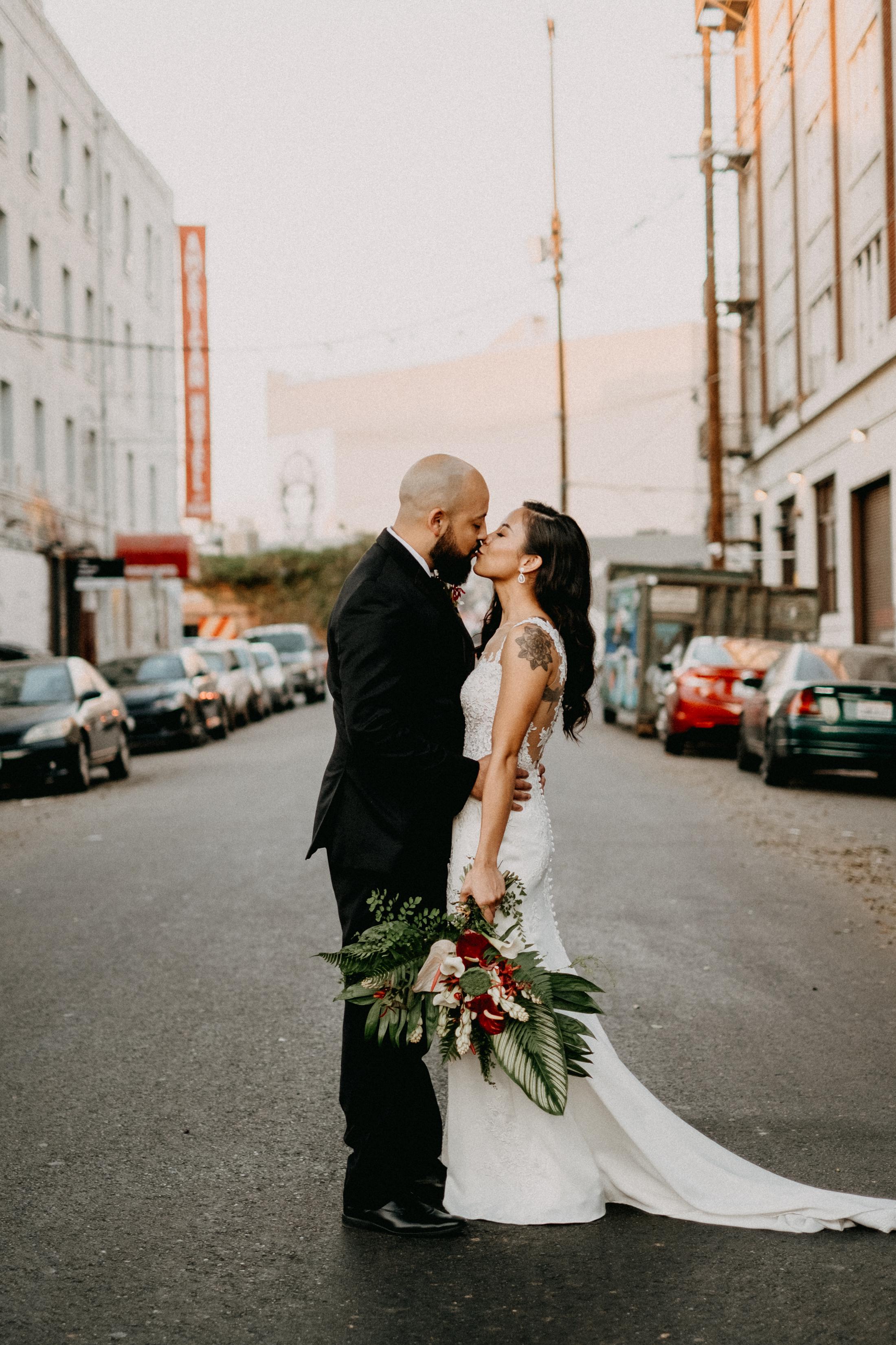 Dark_Tropical_Florals_Sibyl_Sophia_Wedding_Kiss.jpg