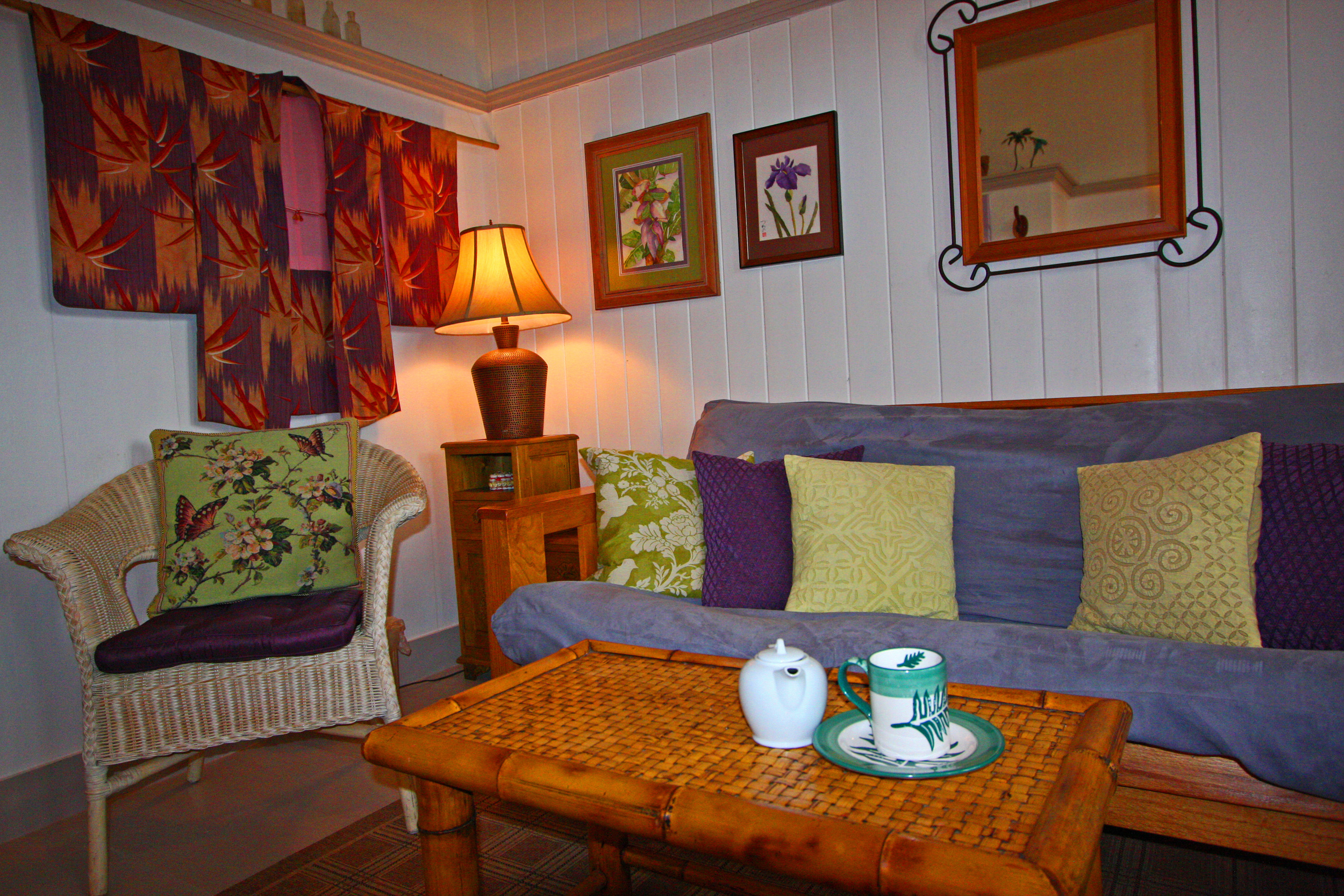 The Second Bedroom of the Kona Wing of the Hale Hookipa Inn
