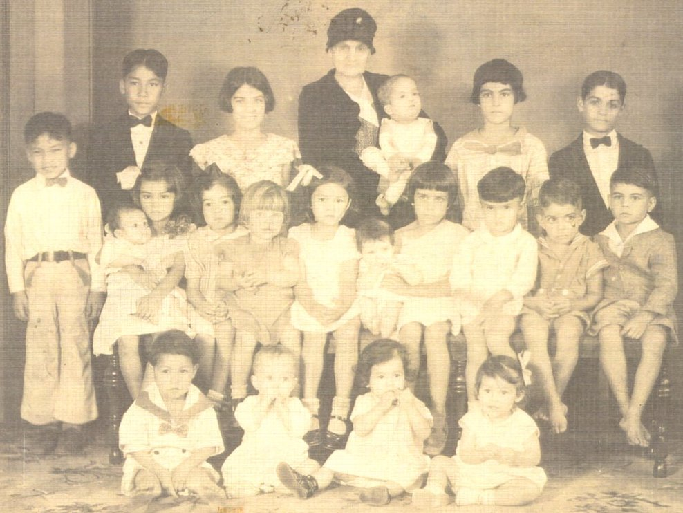The Gomes family of makawao, maui, Hawaii
