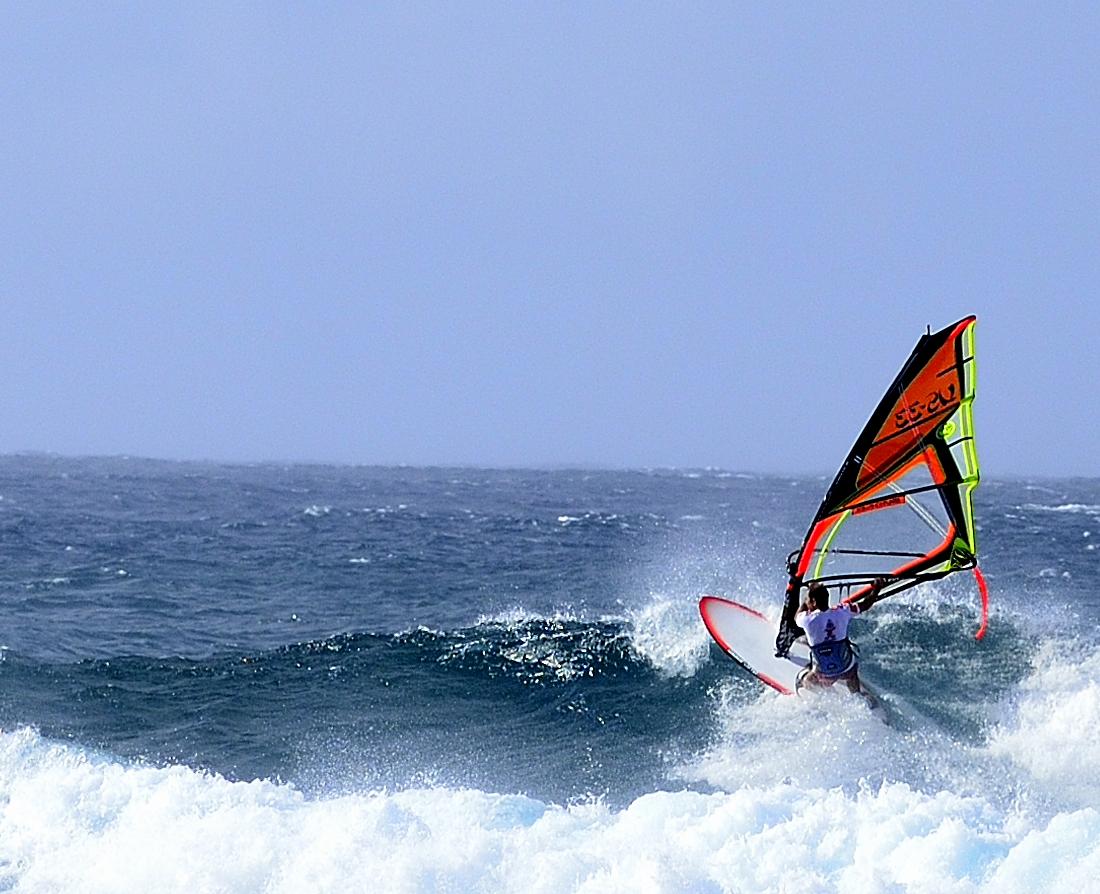 Maui hawaii has world class windsurfing at Ho'okipa State Beach Park
