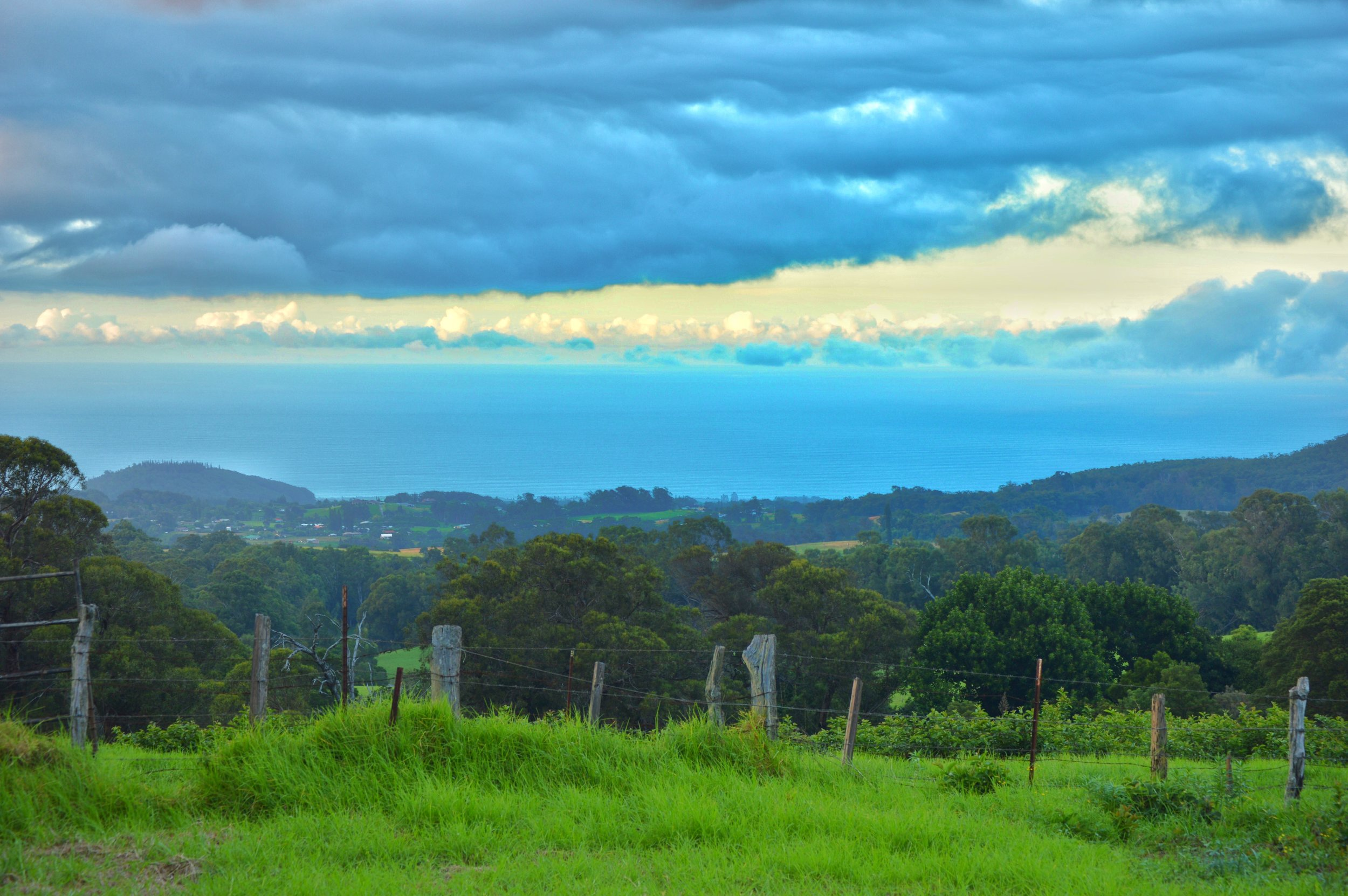 Lush Upcountry homesite looking towards North Shore