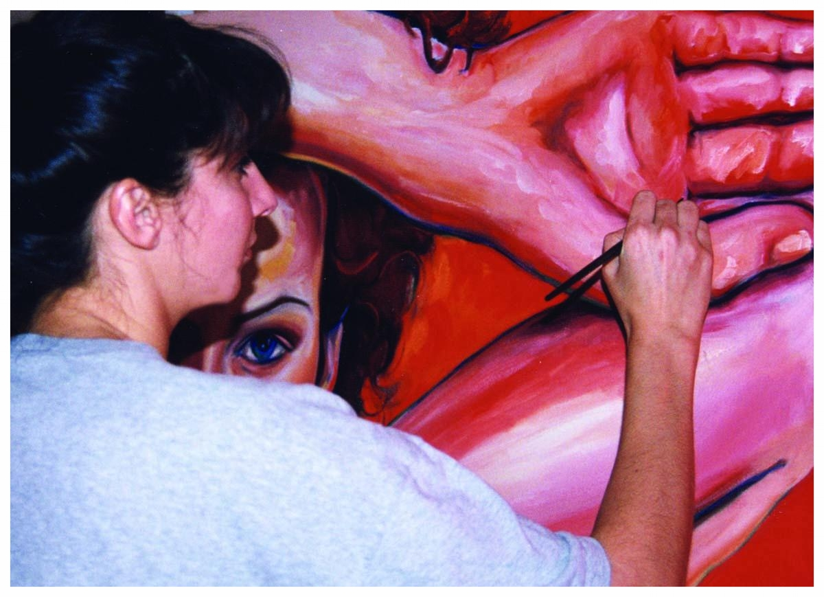 tanja working on kate close-up lo res.jpg