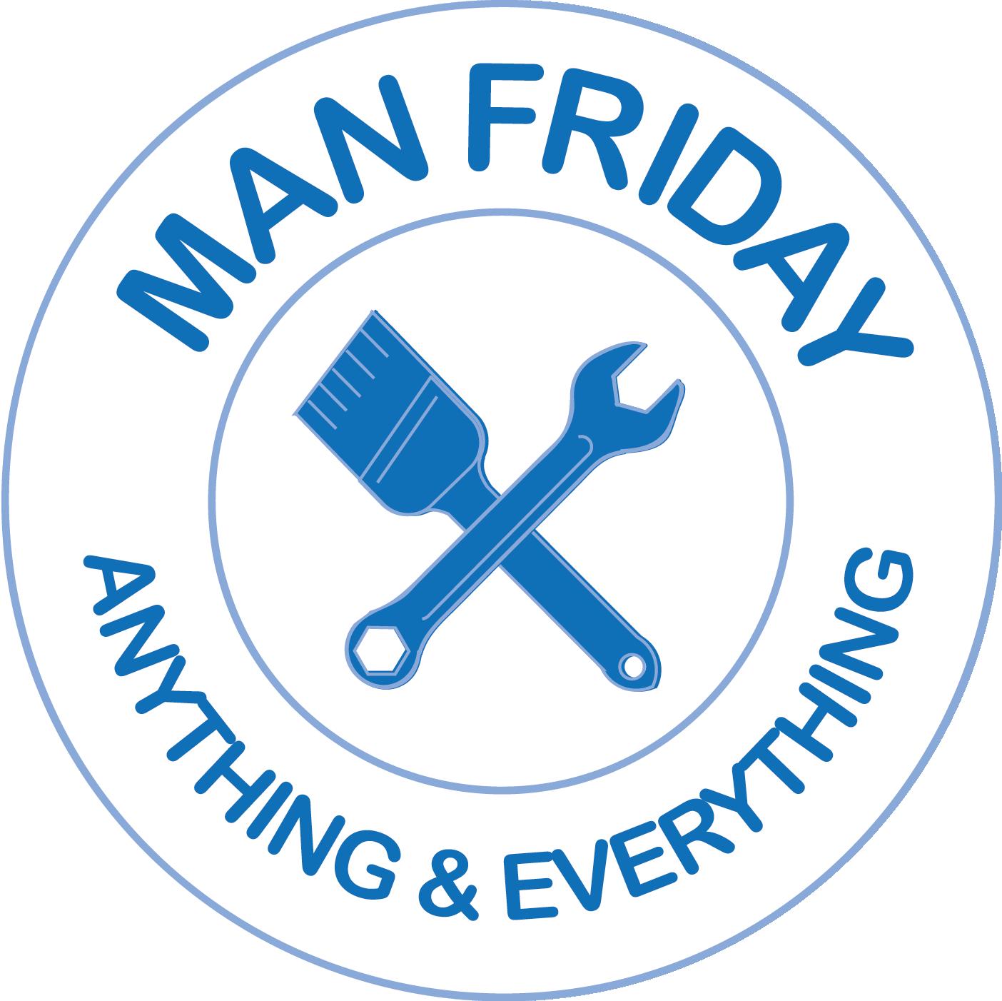 Man Friday Logo v.2, Designed by Bertha Lee