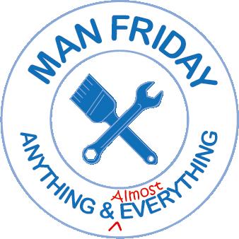 Man Friday Logo v.4, Designed by Bertha Lee
