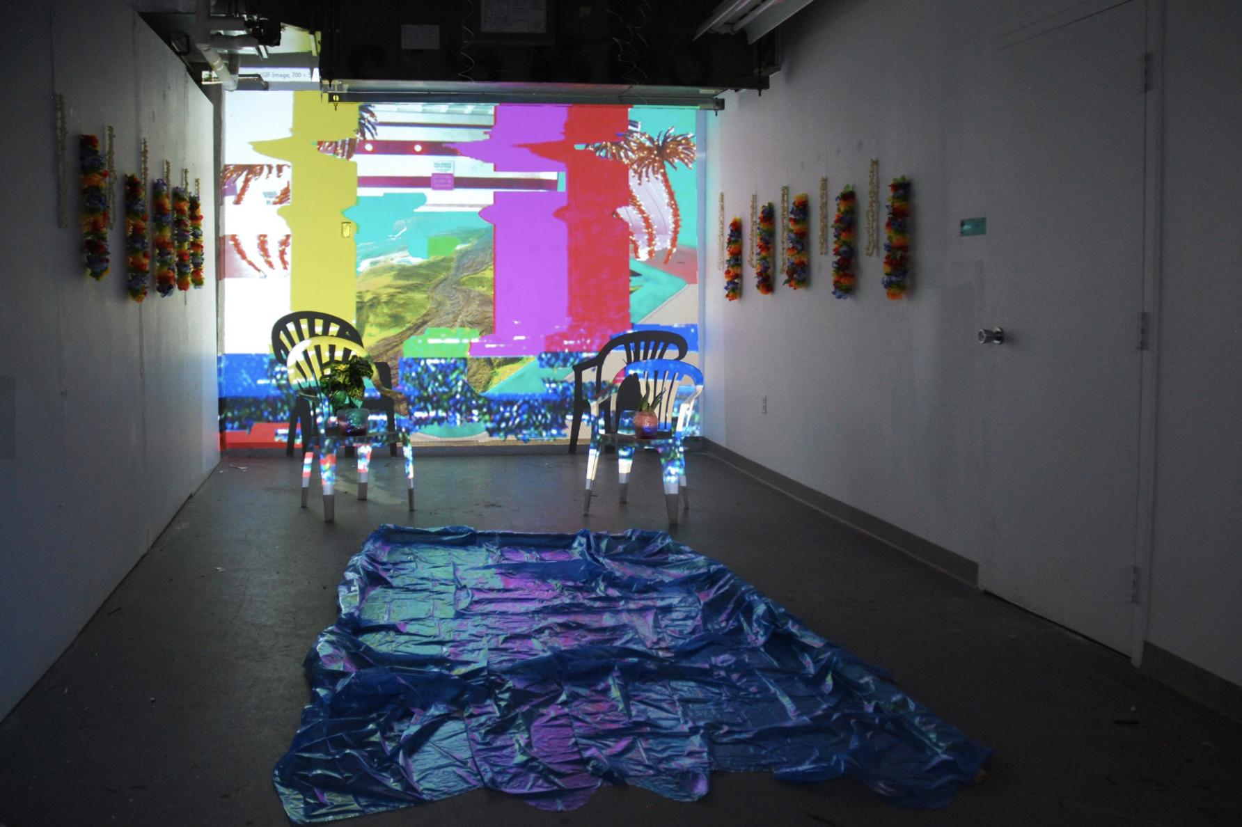 ~ ~ Pool Party ~ ~ , Stephanie Wu (2015), installation view. c: Stephanie wu.