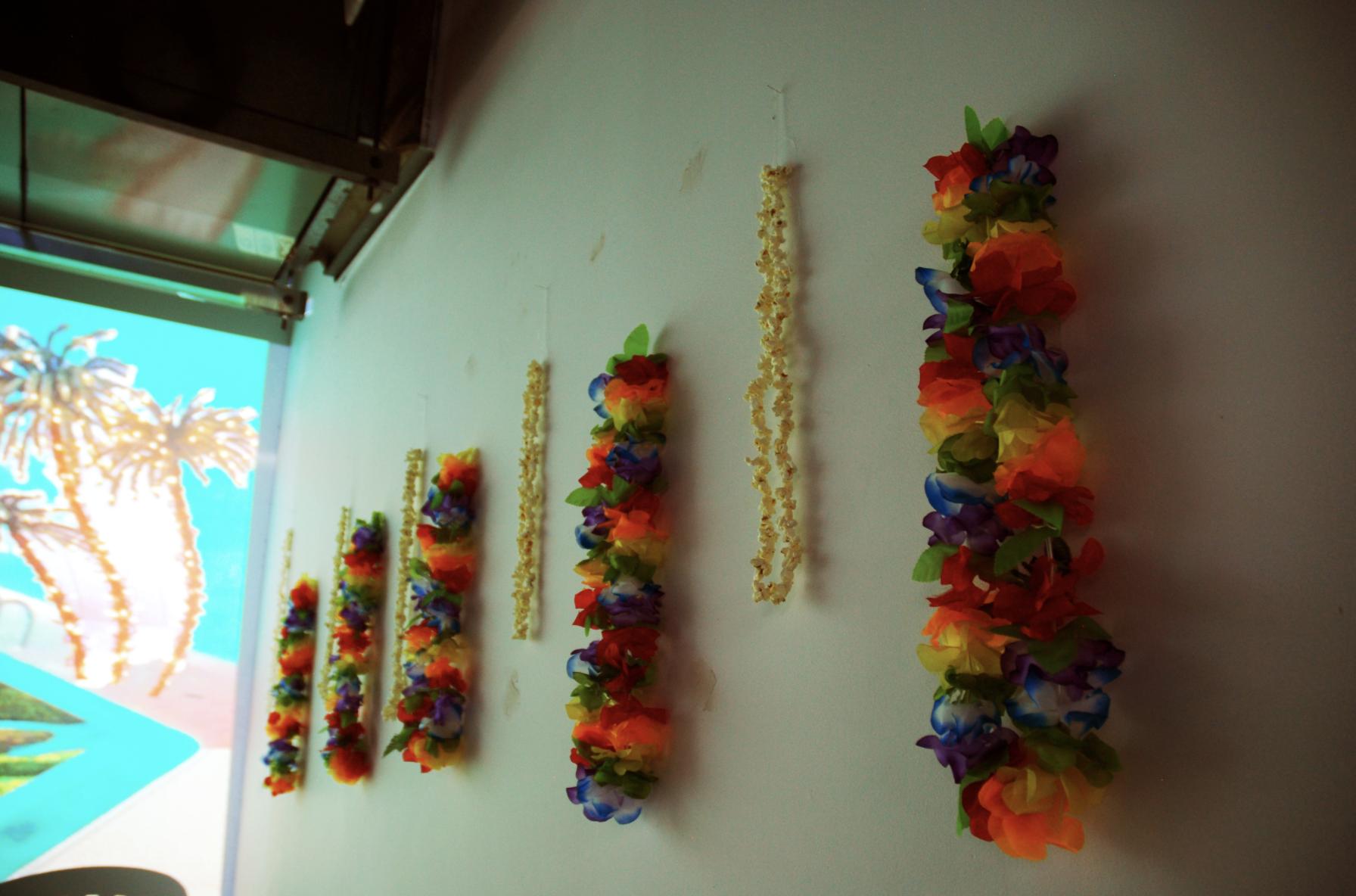 ~ ~ Pool Party ~ ~ , Stephanie Wu (2015), installation detail. c: Stephanie wu.