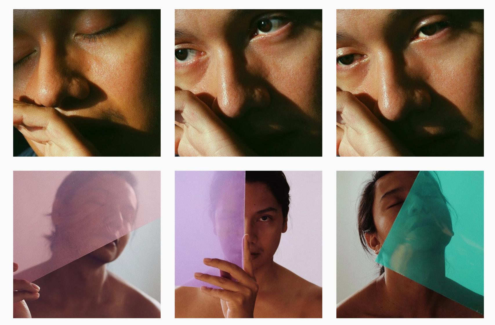Raf Antonio (2017), 6 stills from collection.