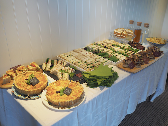 Buffet for Mowhay unwind & refresh