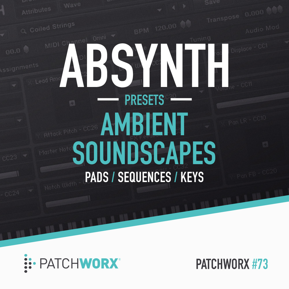 Click for my synth patches at Loopmasters!