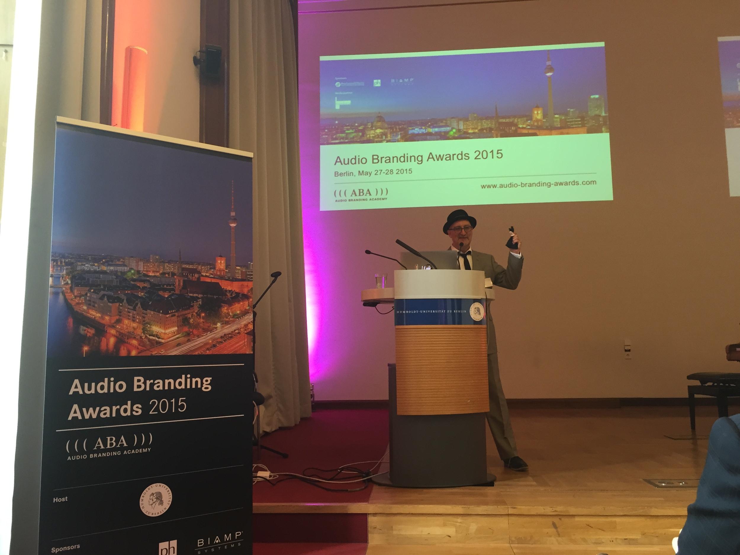 Steve Keller hosting at Audio Branding Academy (Berlin, Germany 2015)