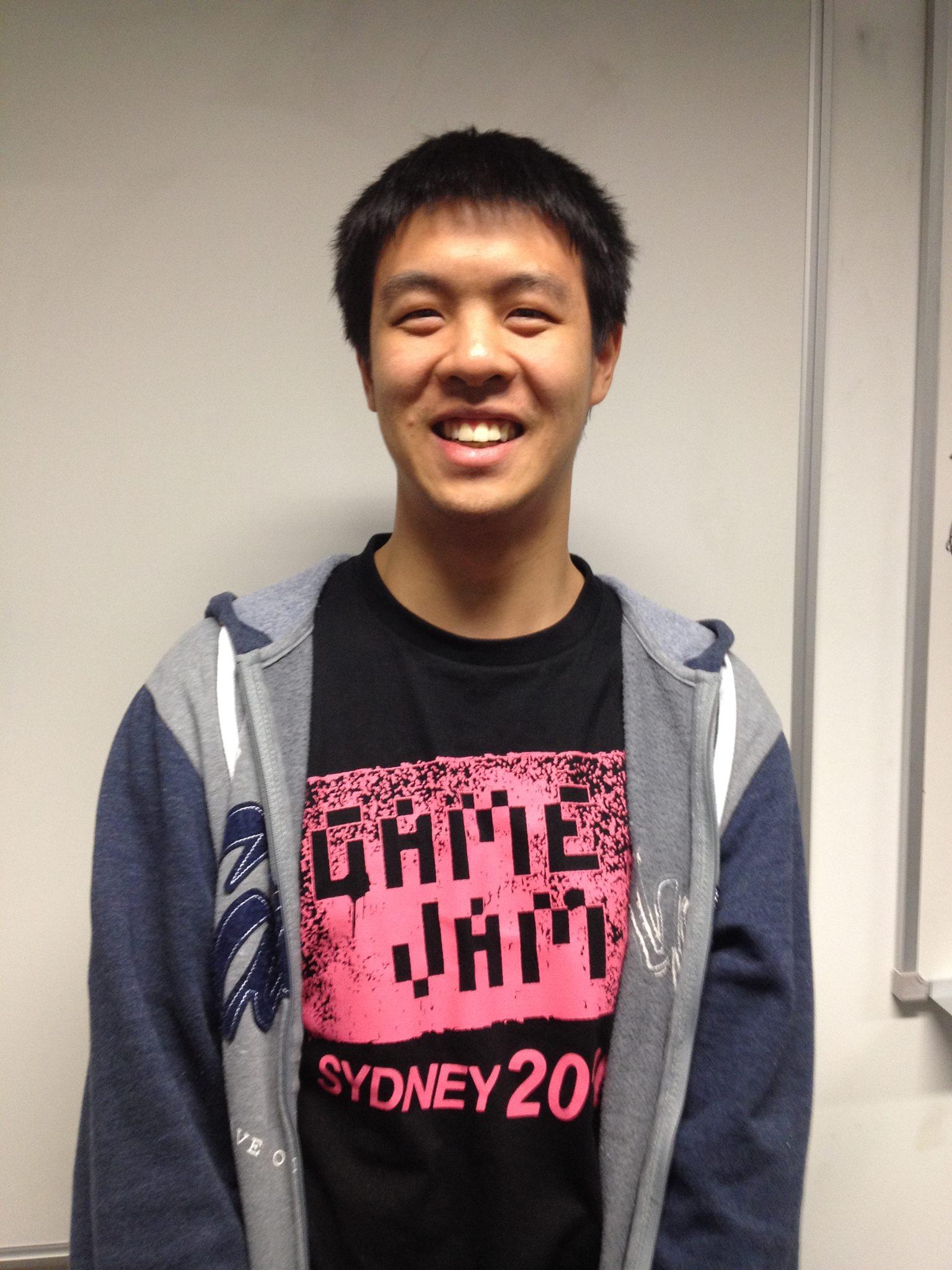 Michael Chu, developer of The Mirror Ritual