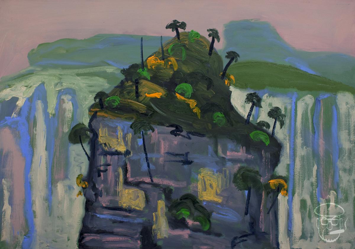 The top of the pinicle Zhangjiajie