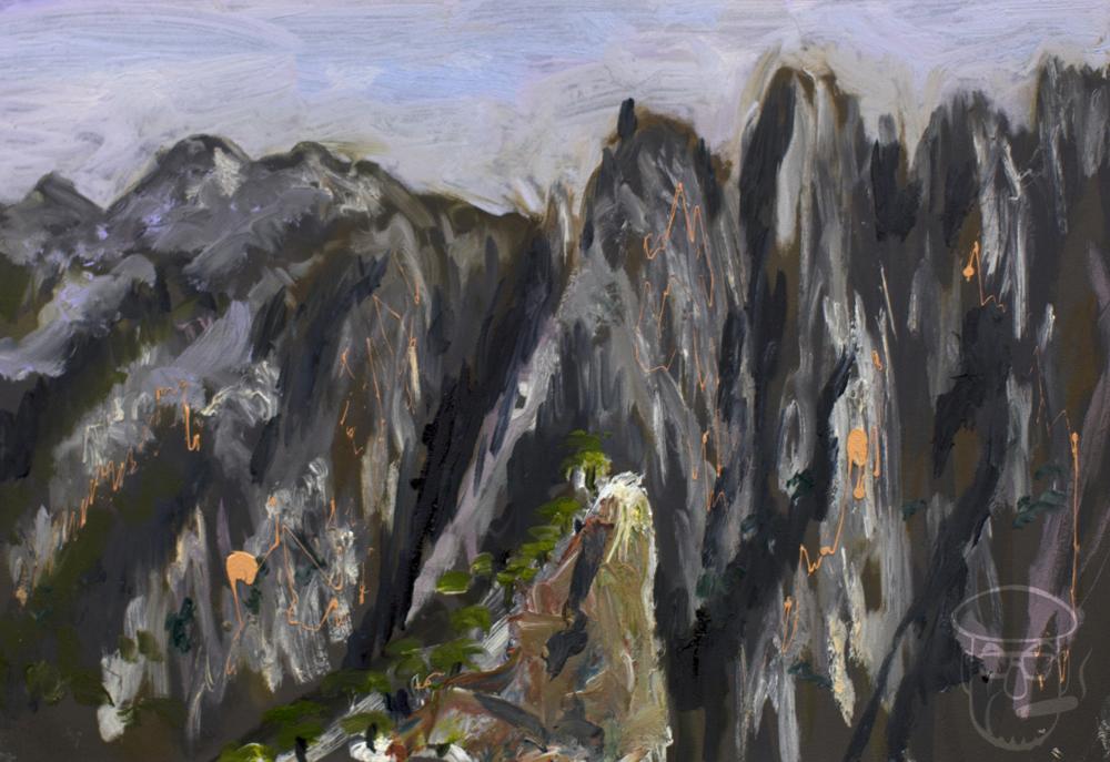 Razer mountains Huangshan