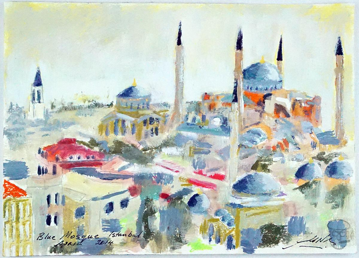 Istanbul Mosque, Turkey